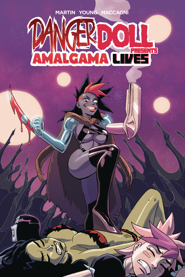 DANGER DOLL SQUAD PRESENTS AMALGAMA LIVES TP VOL 01