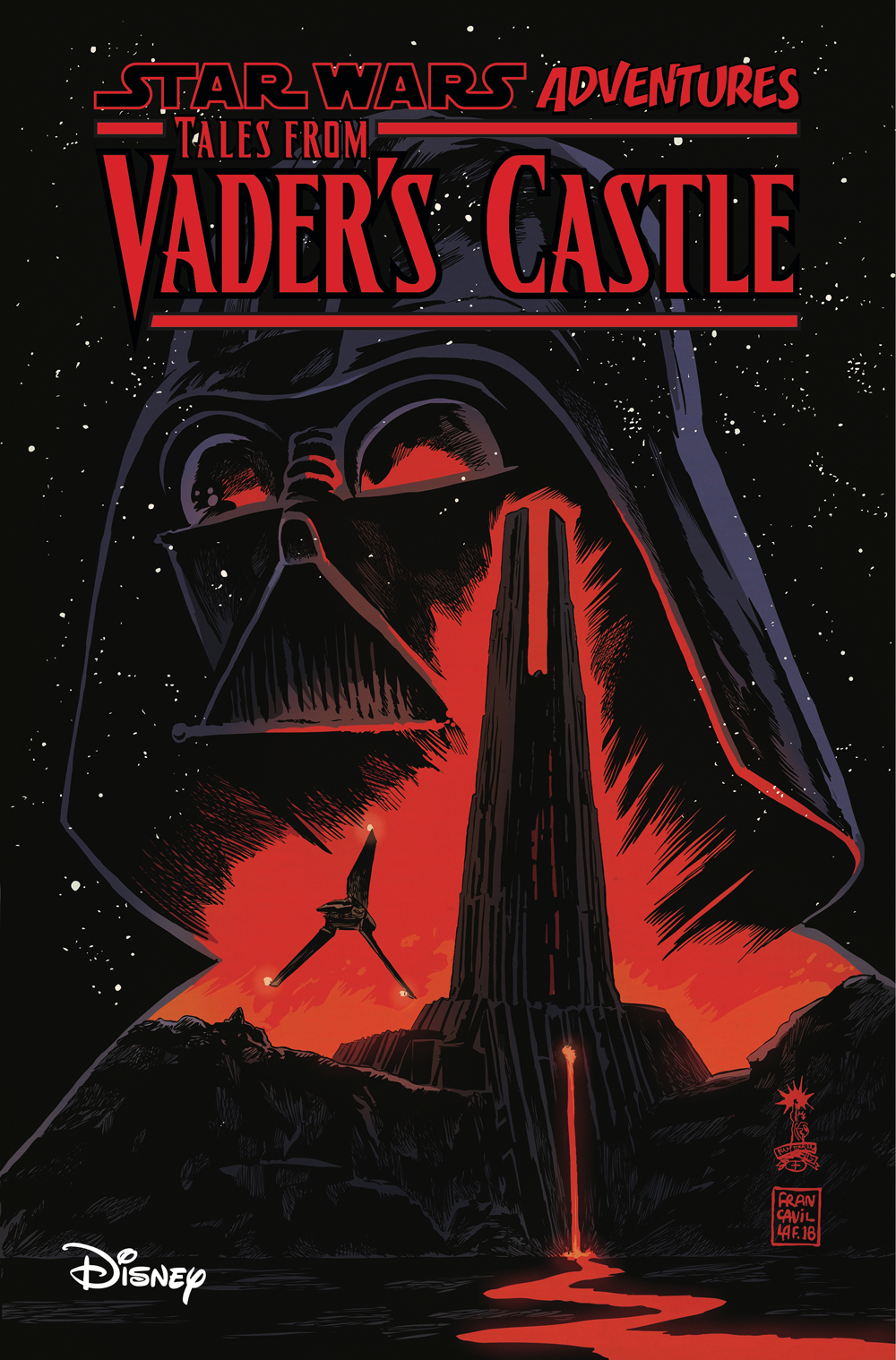 STAR WARS ADVENTURES TALES FROM VADERS CASTLE TP (JAN190801)