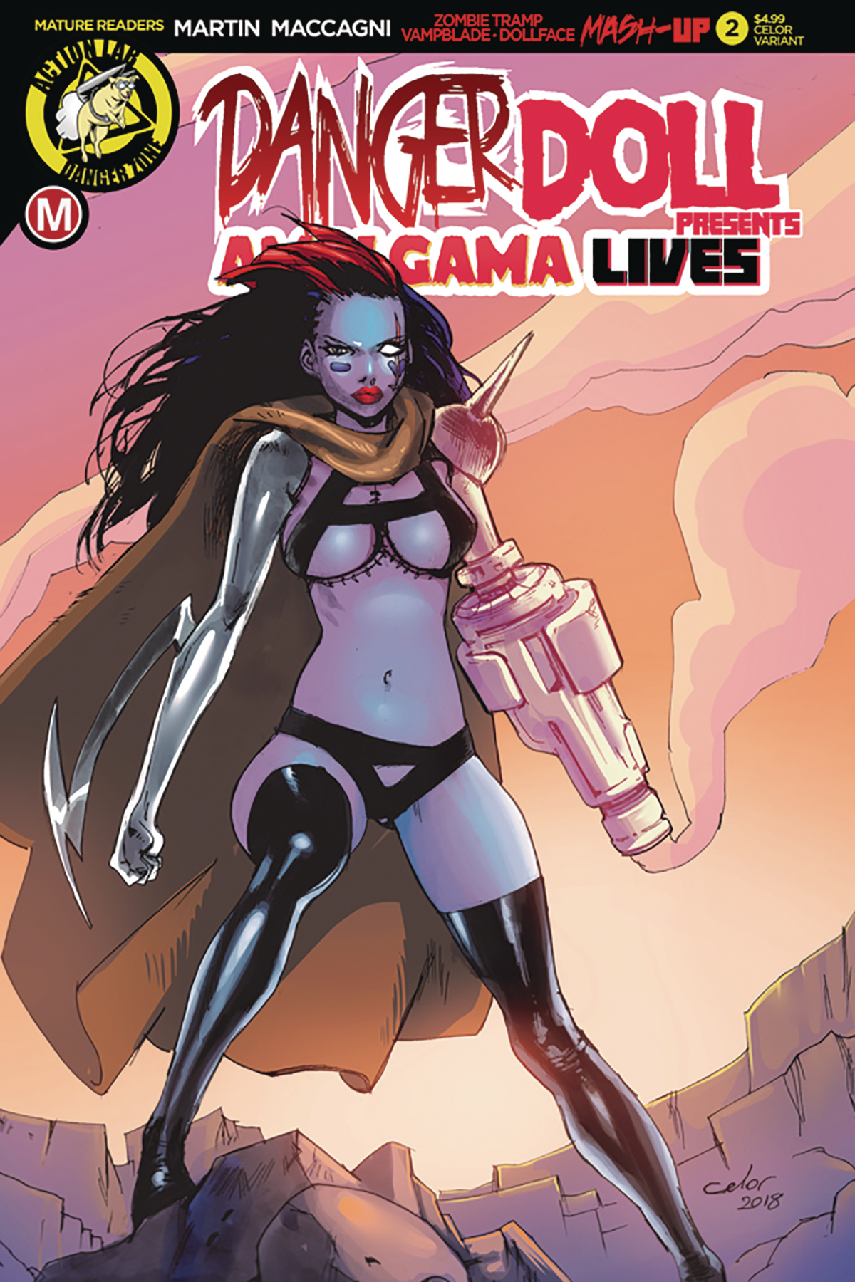 DANGER DOLL SQUAD PRESENTS AMALGAMA LIVES #2 CVR C CELOR (MR