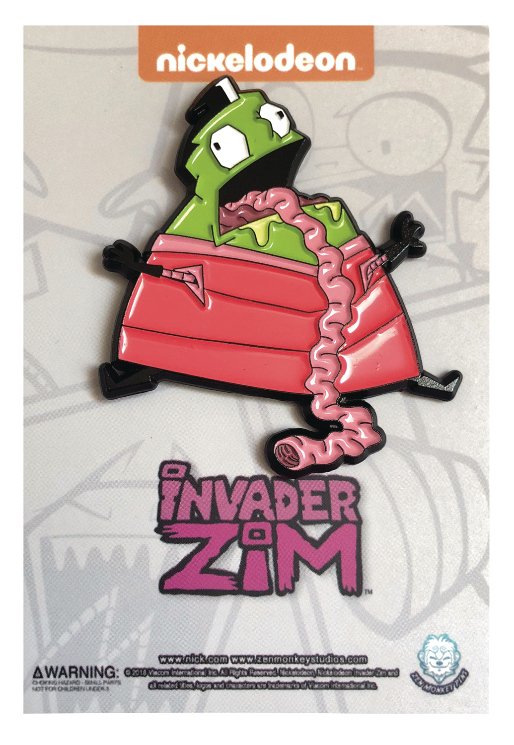 INVADER ZIM ORGAN HARVESTER PIN
