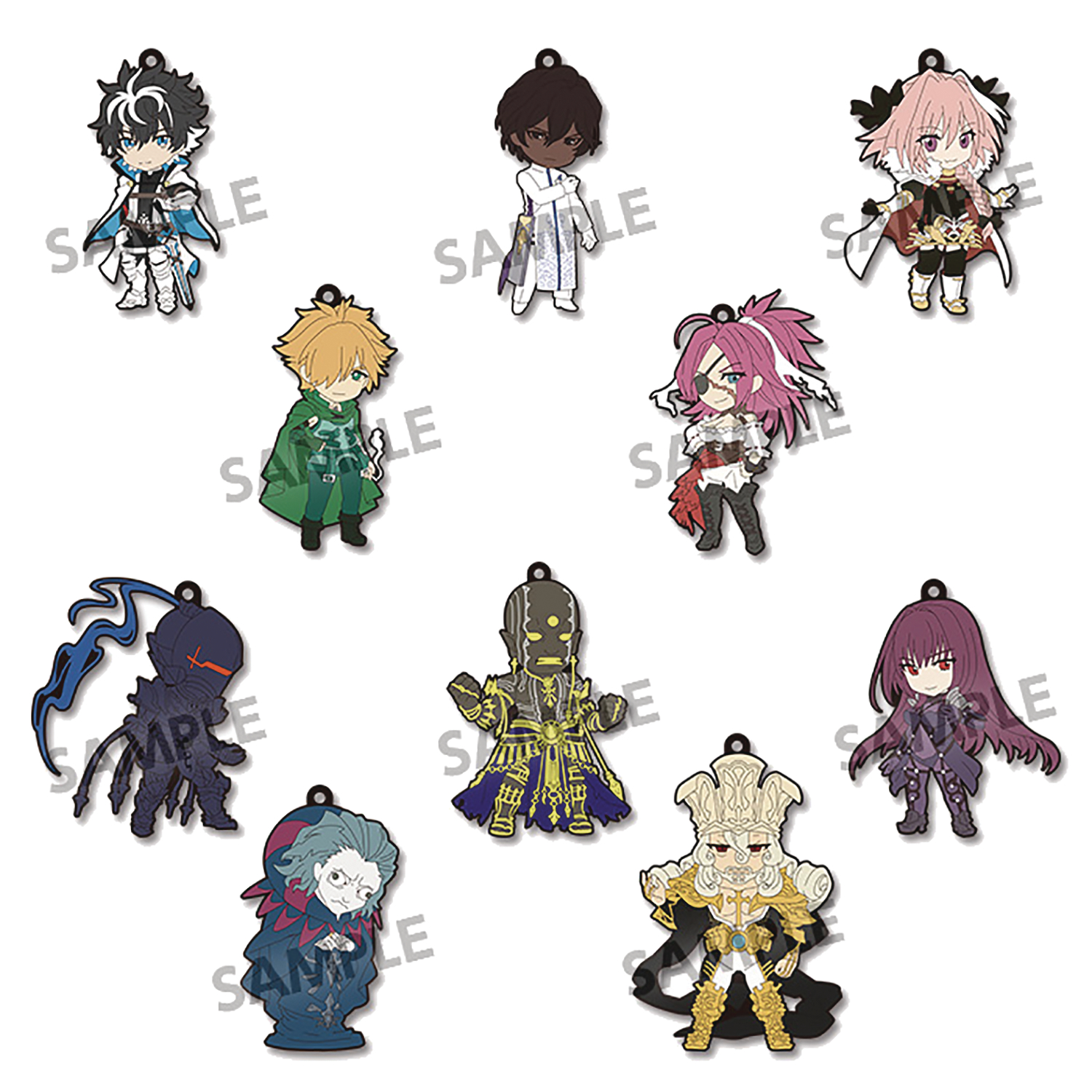 PIKURIRU FATE EXTELLA LINK RUBBER STRAP 10PC BMB DS