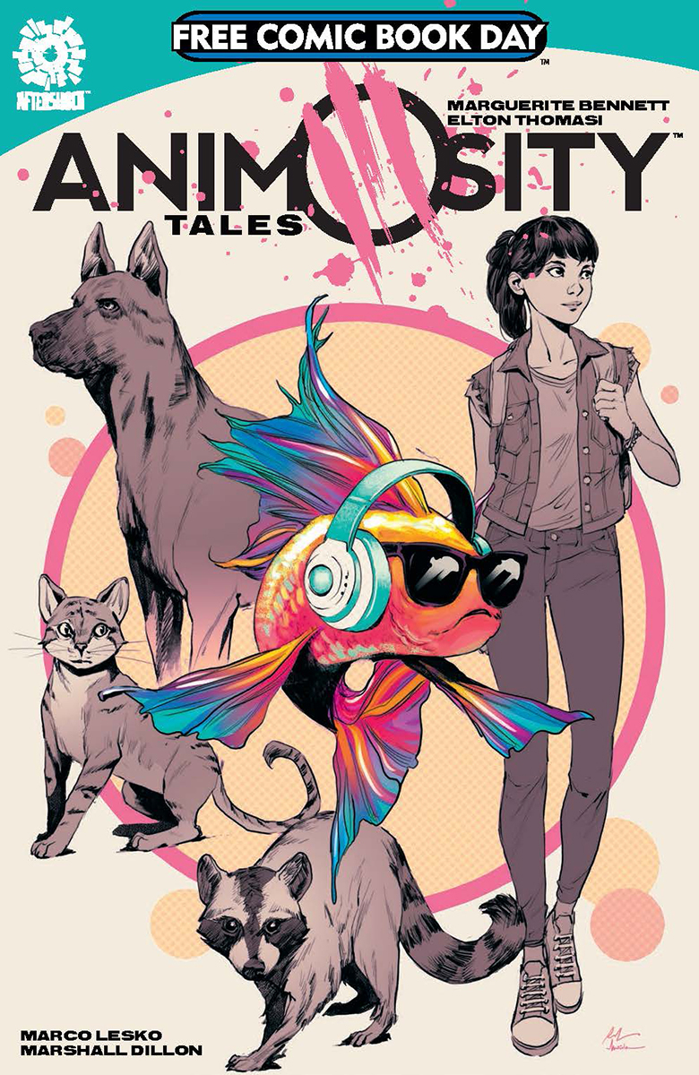 FCBD 2019 ANIMOSITY TALES