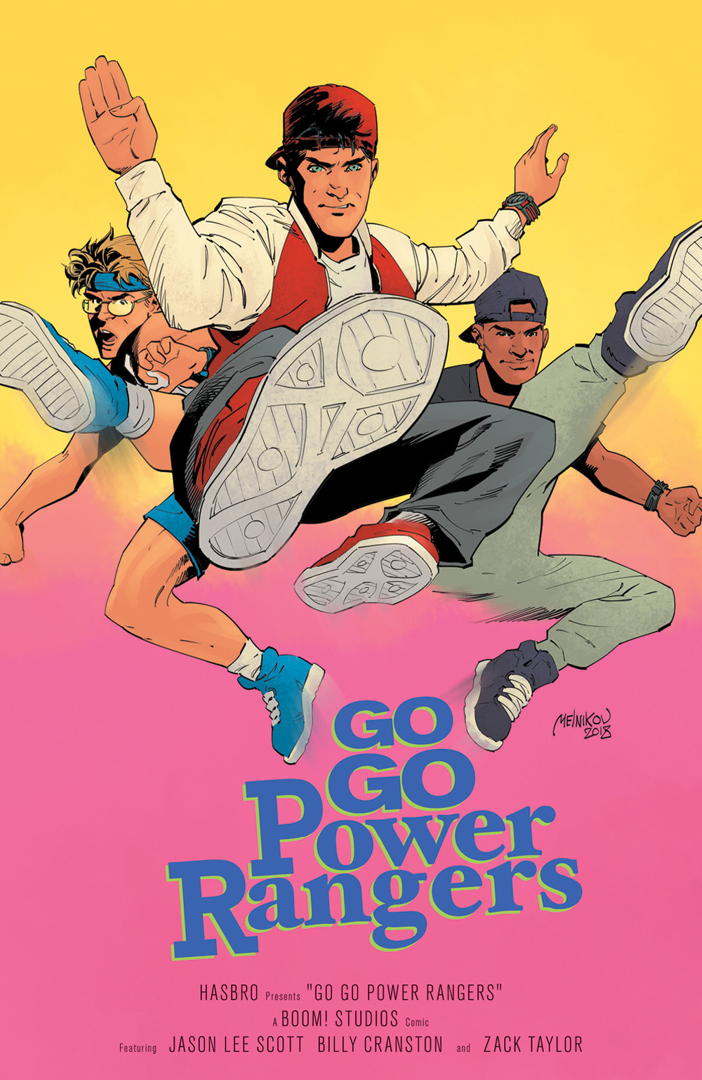 GO GO POWER RANGERS #18 25 COPY MELNIKOV INCV
