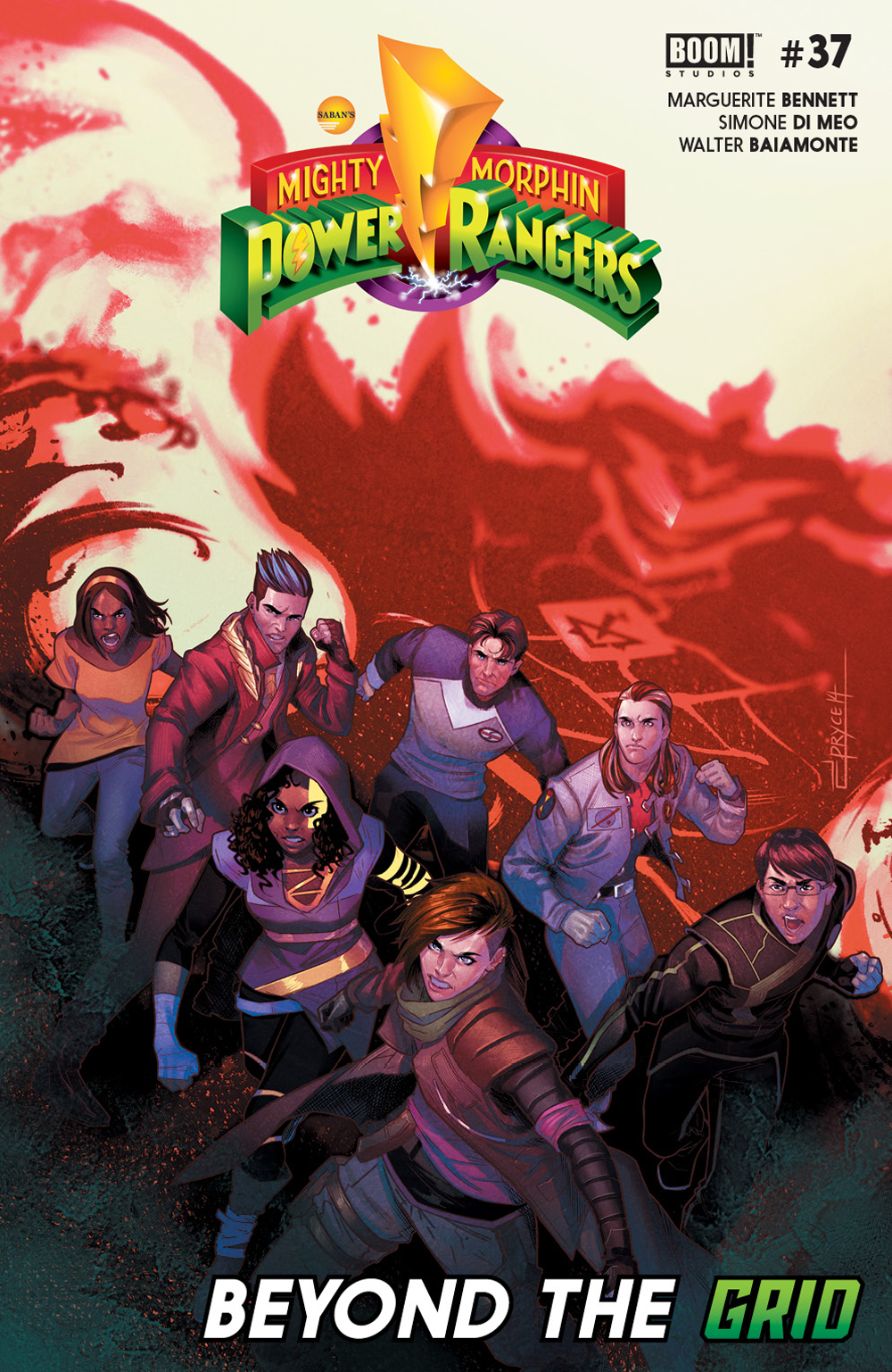 MIGHTY MORPHIN POWER RANGERS #37 MAIN