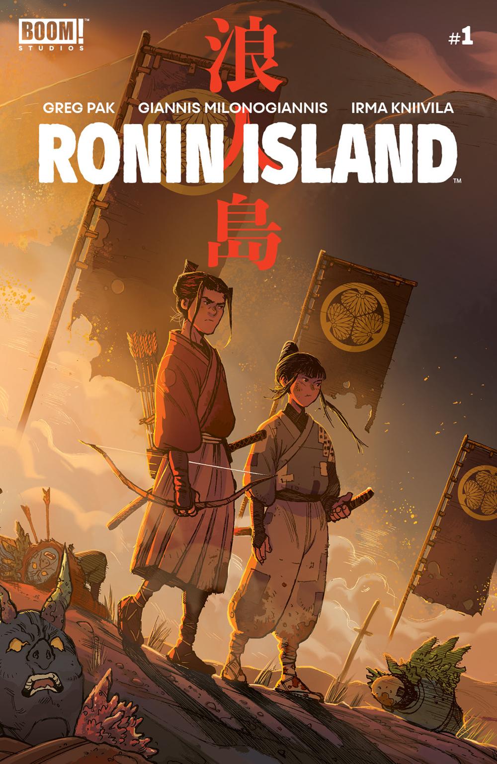 RONIN ISLAND #1 MAIN