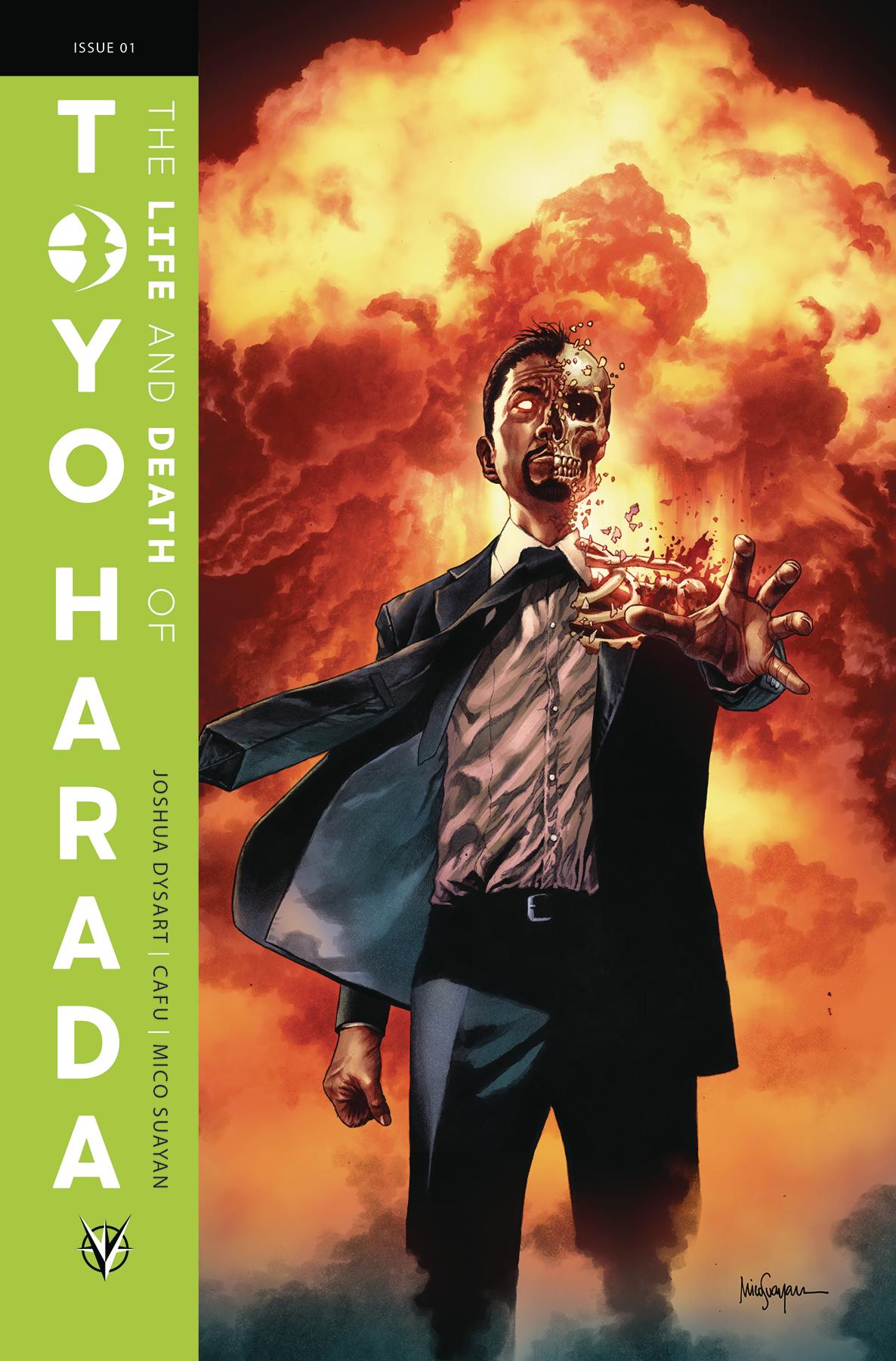 LIFE & DEATH OF TOYO HARADA #1 (OF 6) CVR A SUAYAN
