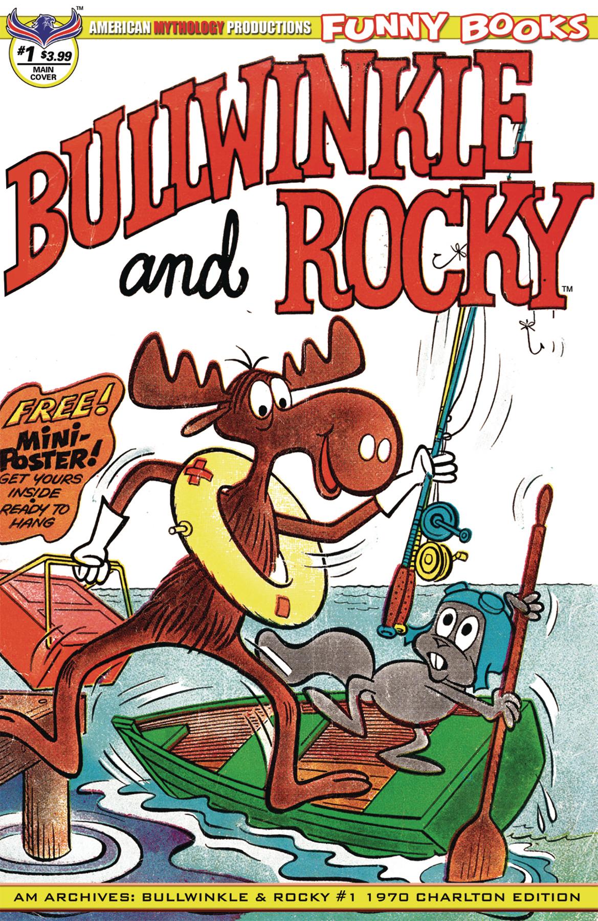 AM ARCHIVES BULLWINKLE & ROCKY #1 CHARLTON ED
