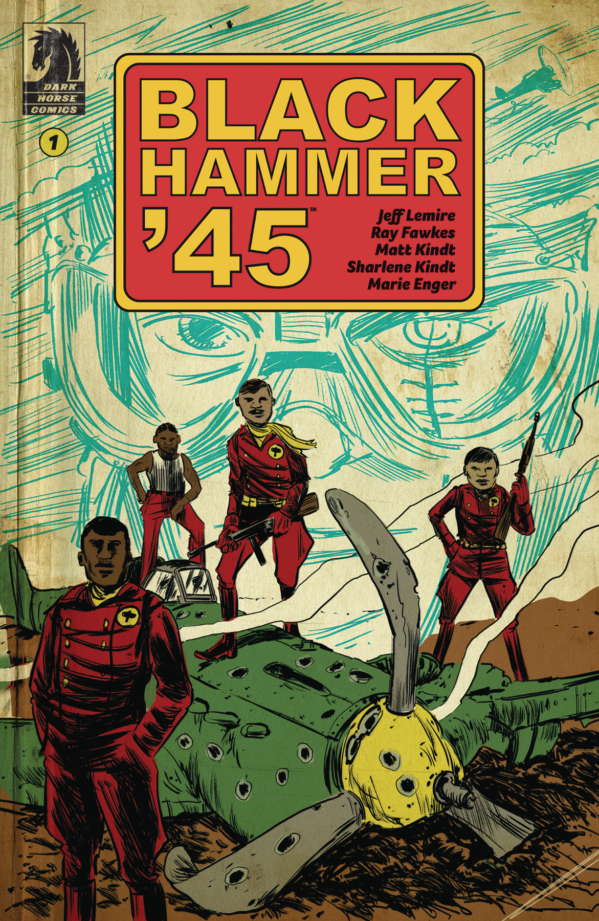 BLACK HAMMER 45 FROM WORLD OF BLACK HAMMER #1 CVR A KINDT (O