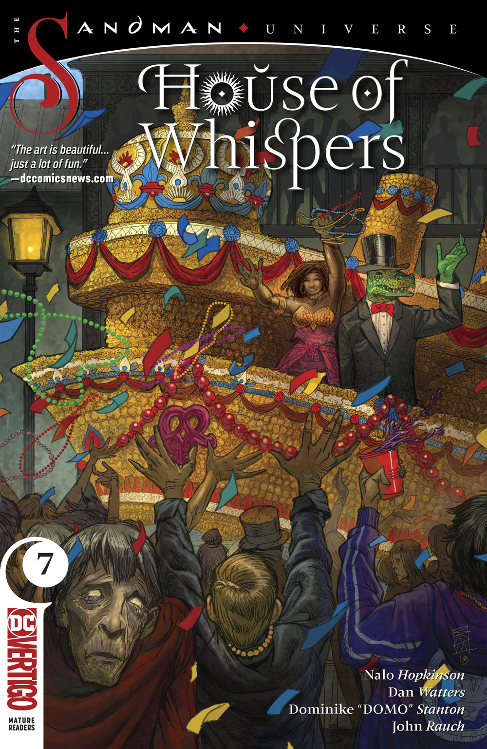 HOUSE OF WHISPERS #7 (MR)