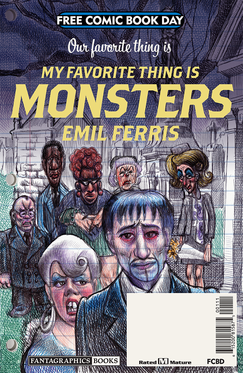 FCBD 2019 MY FAVORITE THING IS MONSTERS  (MR)
