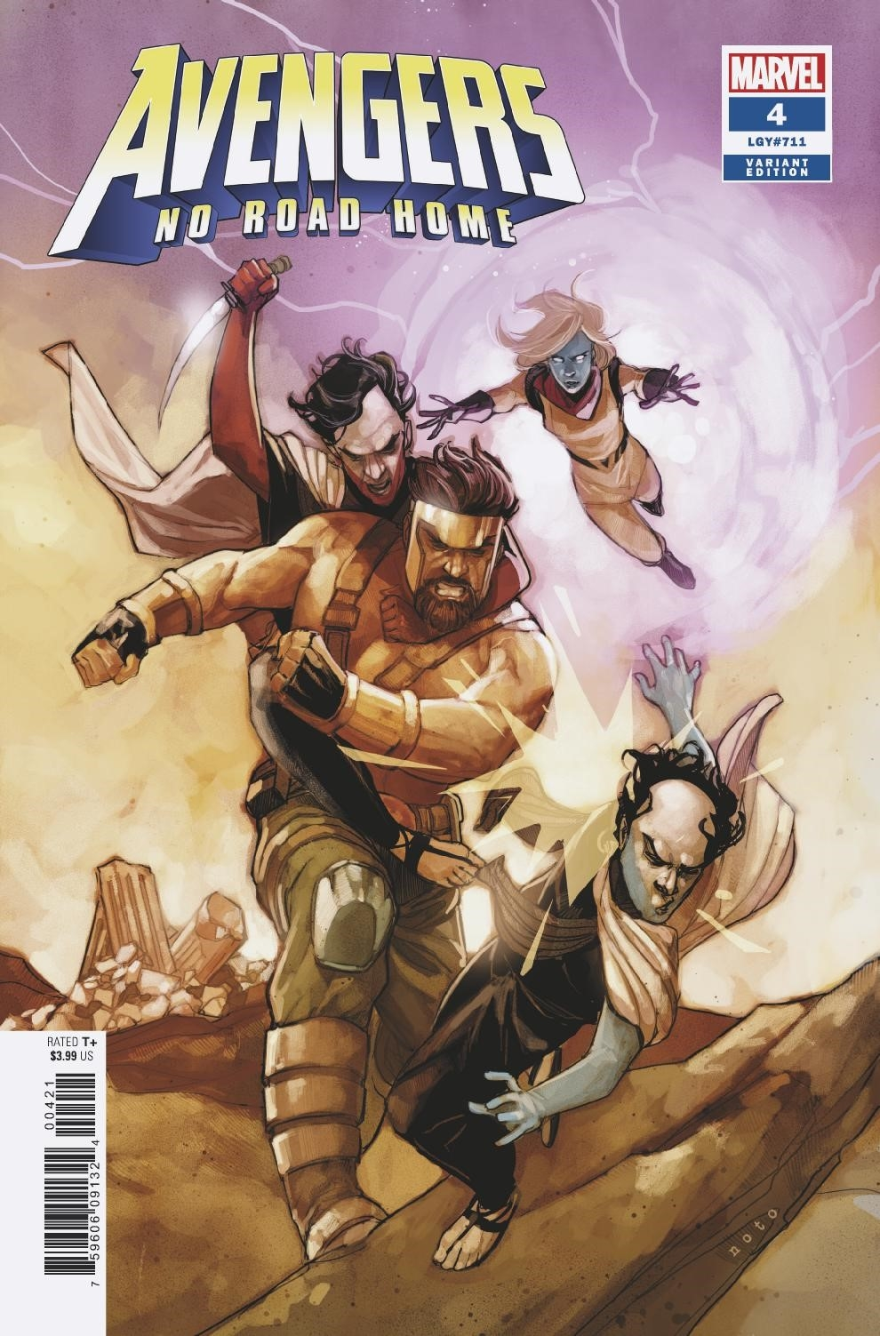 AVENGERS NO ROAD HOME #4 (OF 10) NOTO CONNECTING VAR