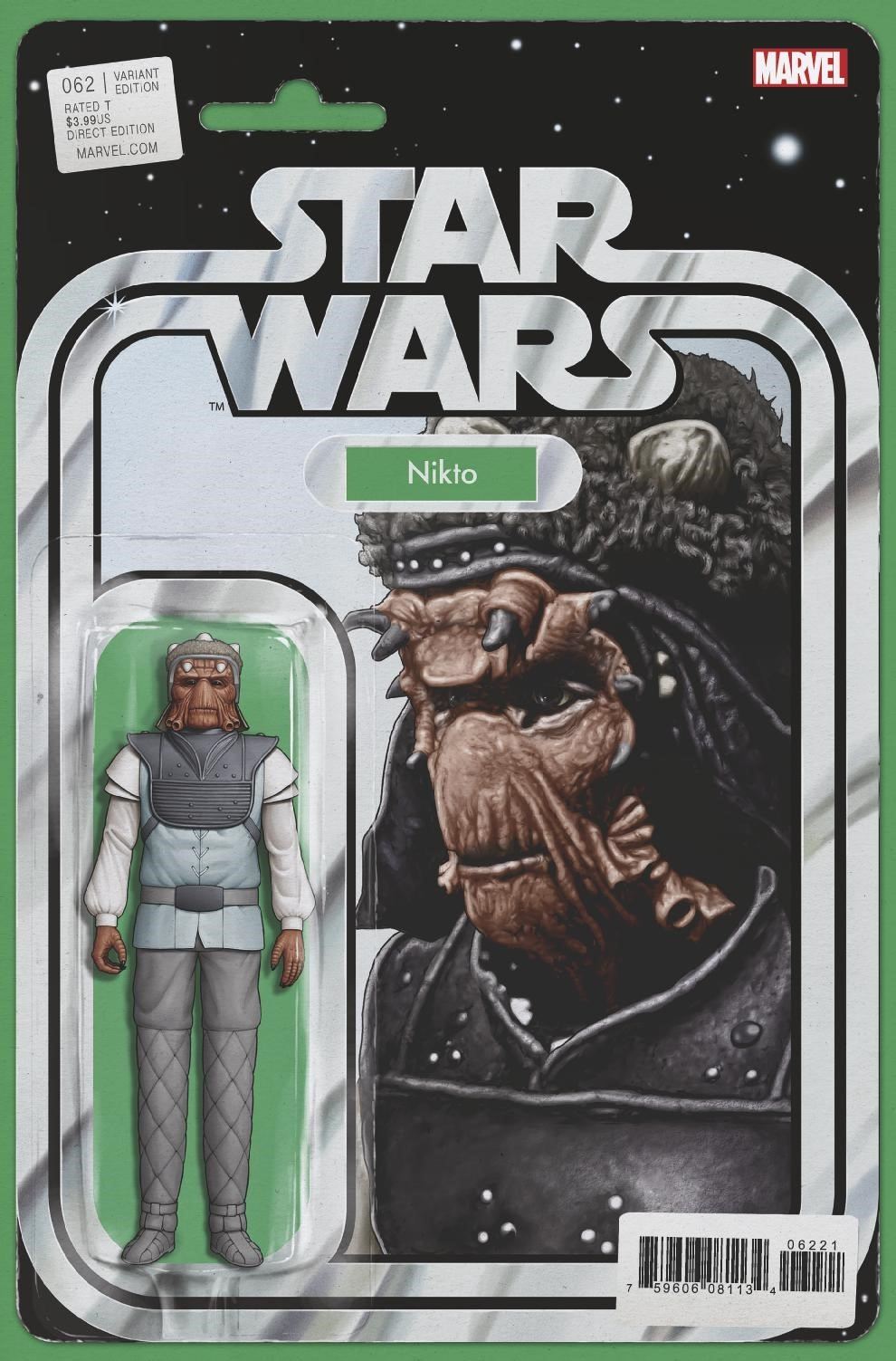 STAR WARS #62 CHRISTOPHER ACTION FIGURE VAR