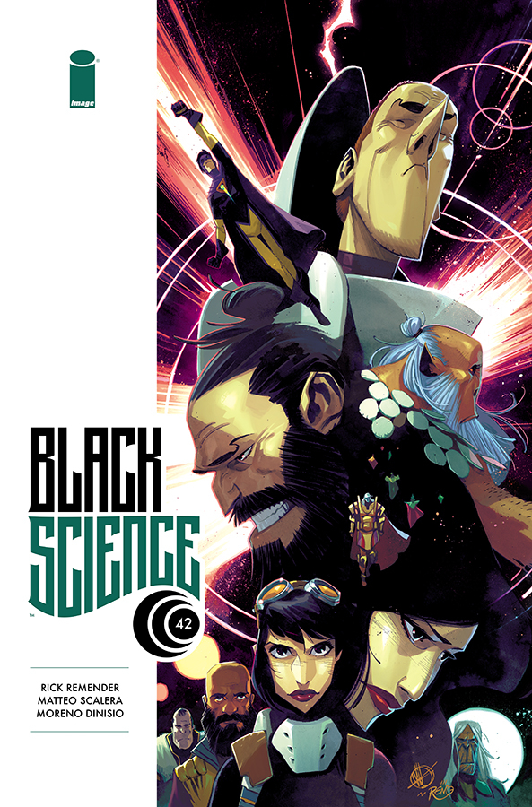 BLACK SCIENCE #42 CVR A SCALERA (MR)