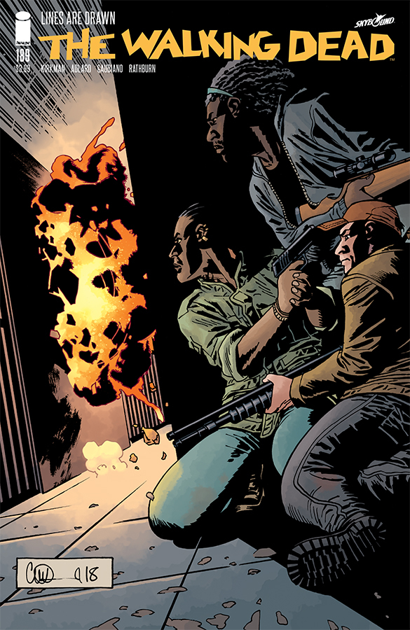 WALKING DEAD #189 (MR)