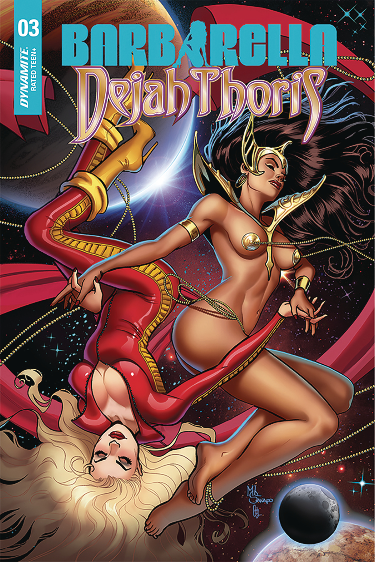 BARBARELLA DEJAH THORIS #3 10 COPY SANAPO SEDUCTION INCV (NE