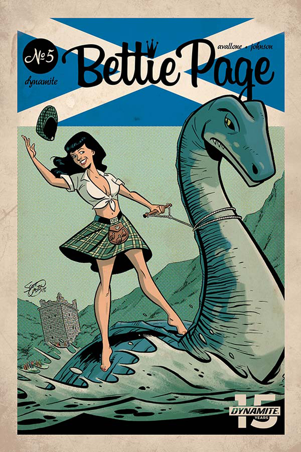 BETTIE PAGE #5 CVR B CHANTLER