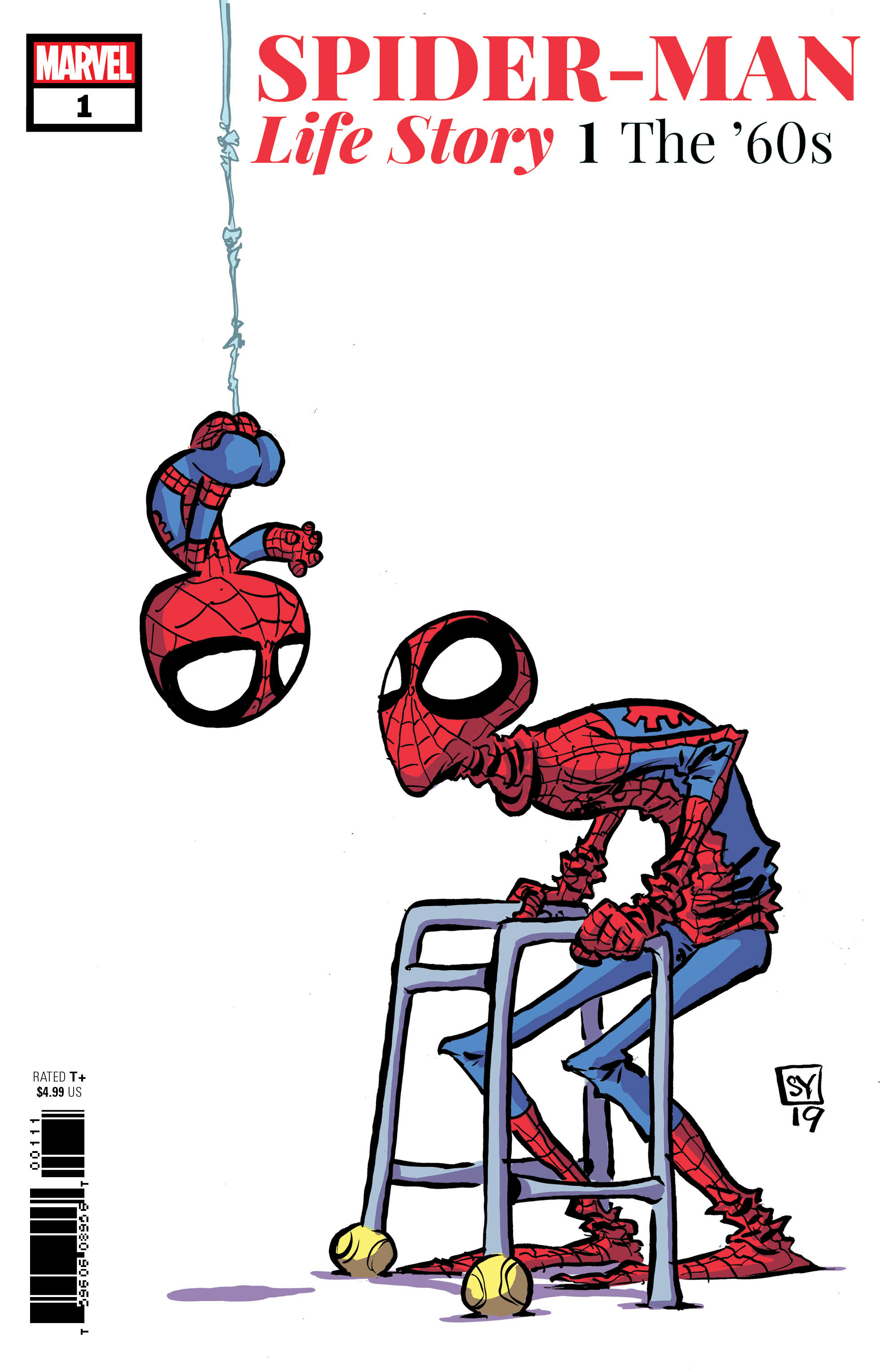 SPIDER-MAN LIFE STORY #1 (OF 6) YOUNG VAR