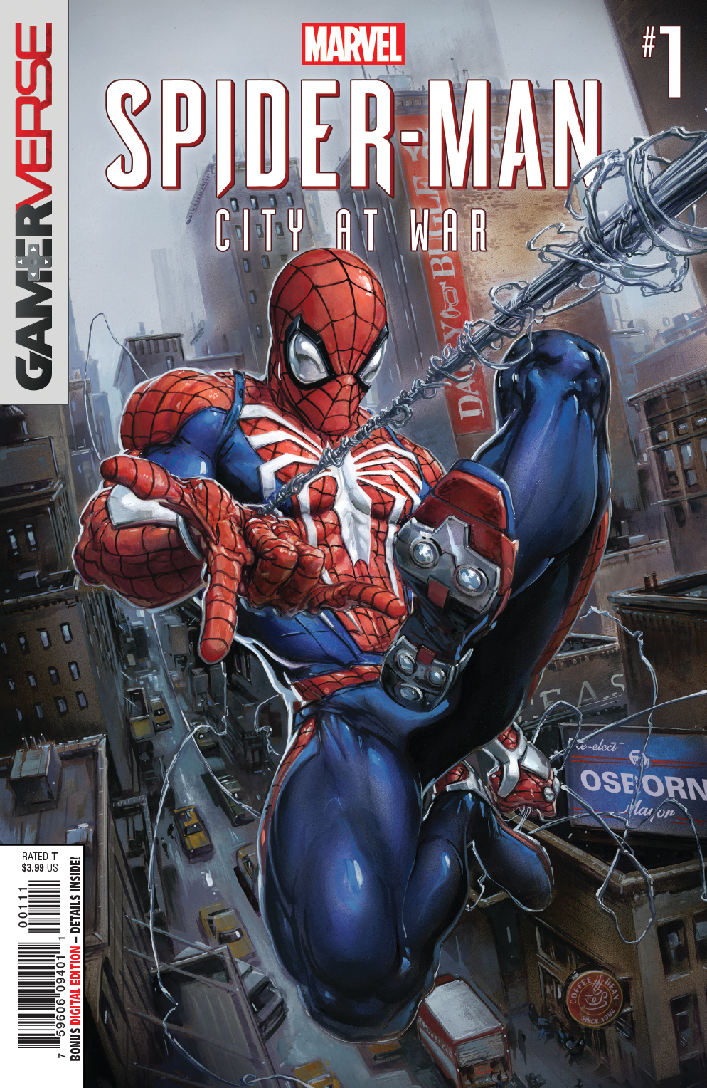 MARVELS SPIDER-MAN CITY AT WAR #1 (OF 6)