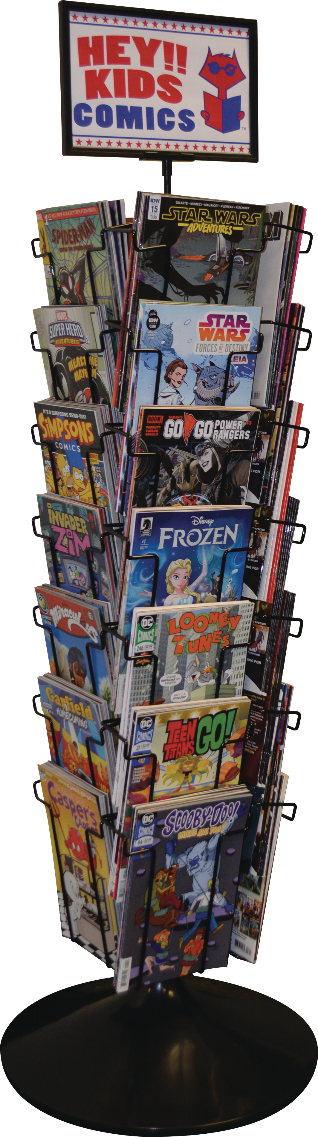 DIAMOND PX 28-POCKET JUNIOR COMIC SPINNER RACK (Net)
