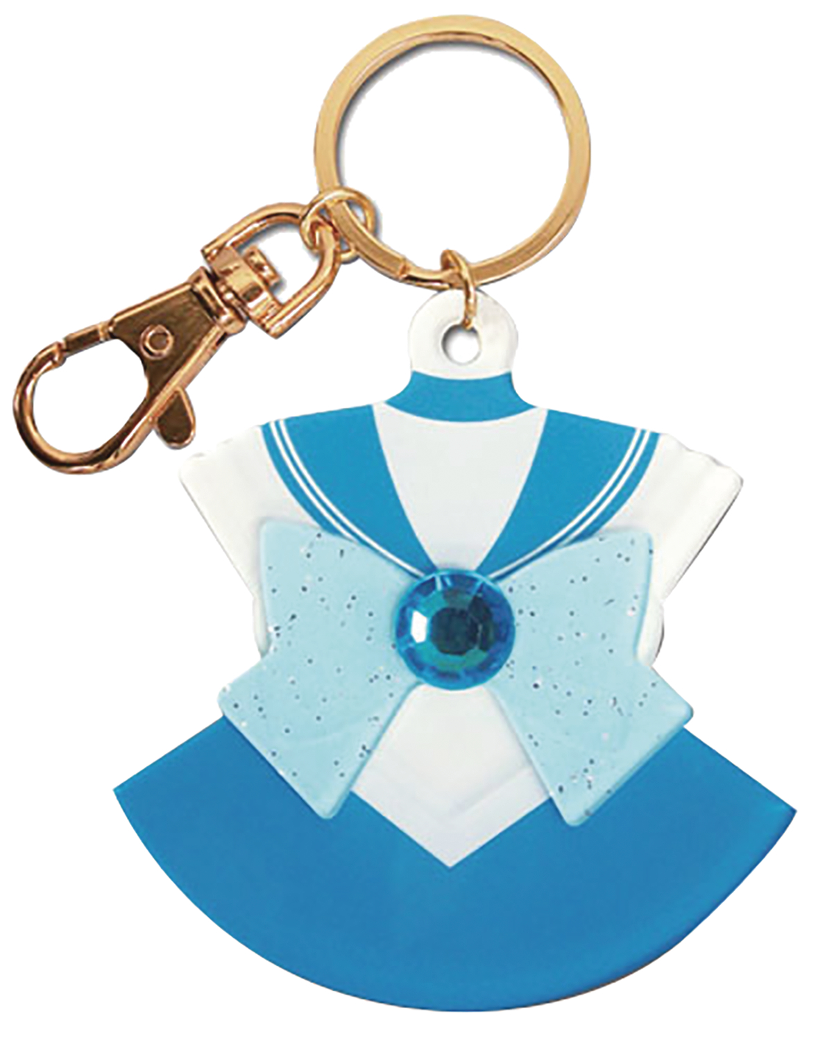 SAILOR MOON SAILOR MERCURY COSTUME KEYCHAIN