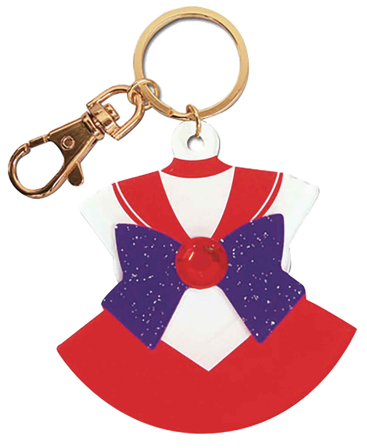 SAILOR MOON SAILOR MARS COSTUME KEYCHAIN