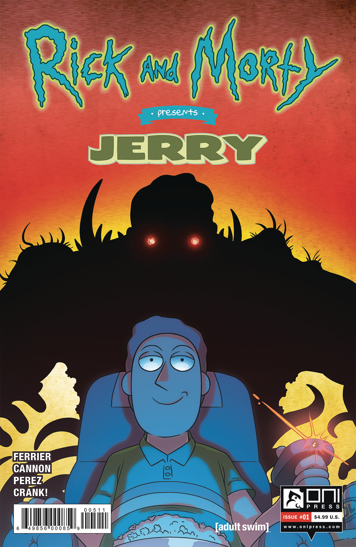 RICK & MORTY PRESENTS JERRY #1 CVR A