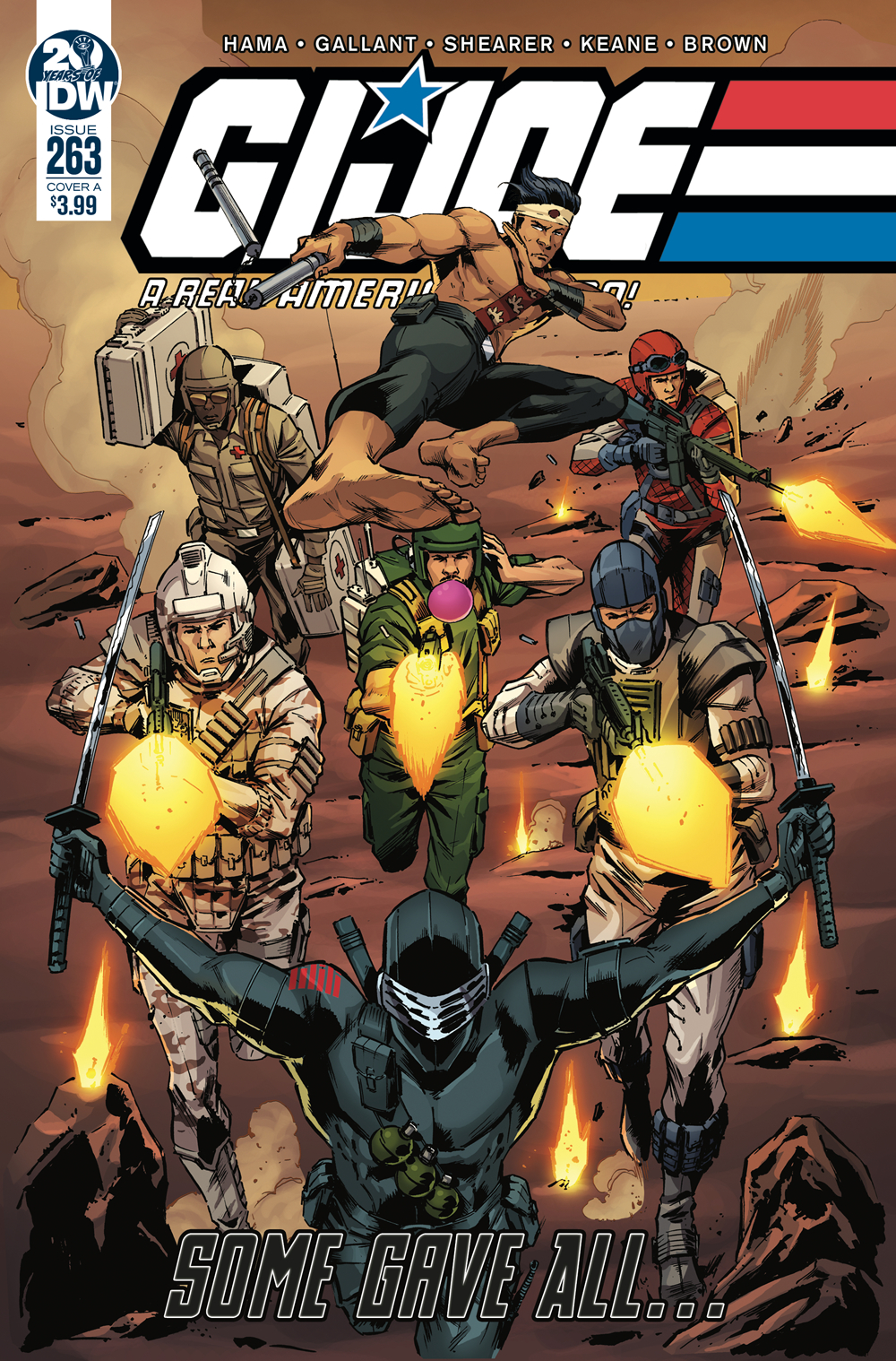 GI JOE A REAL AMERICAN HERO #263 CVR A DIAZ
