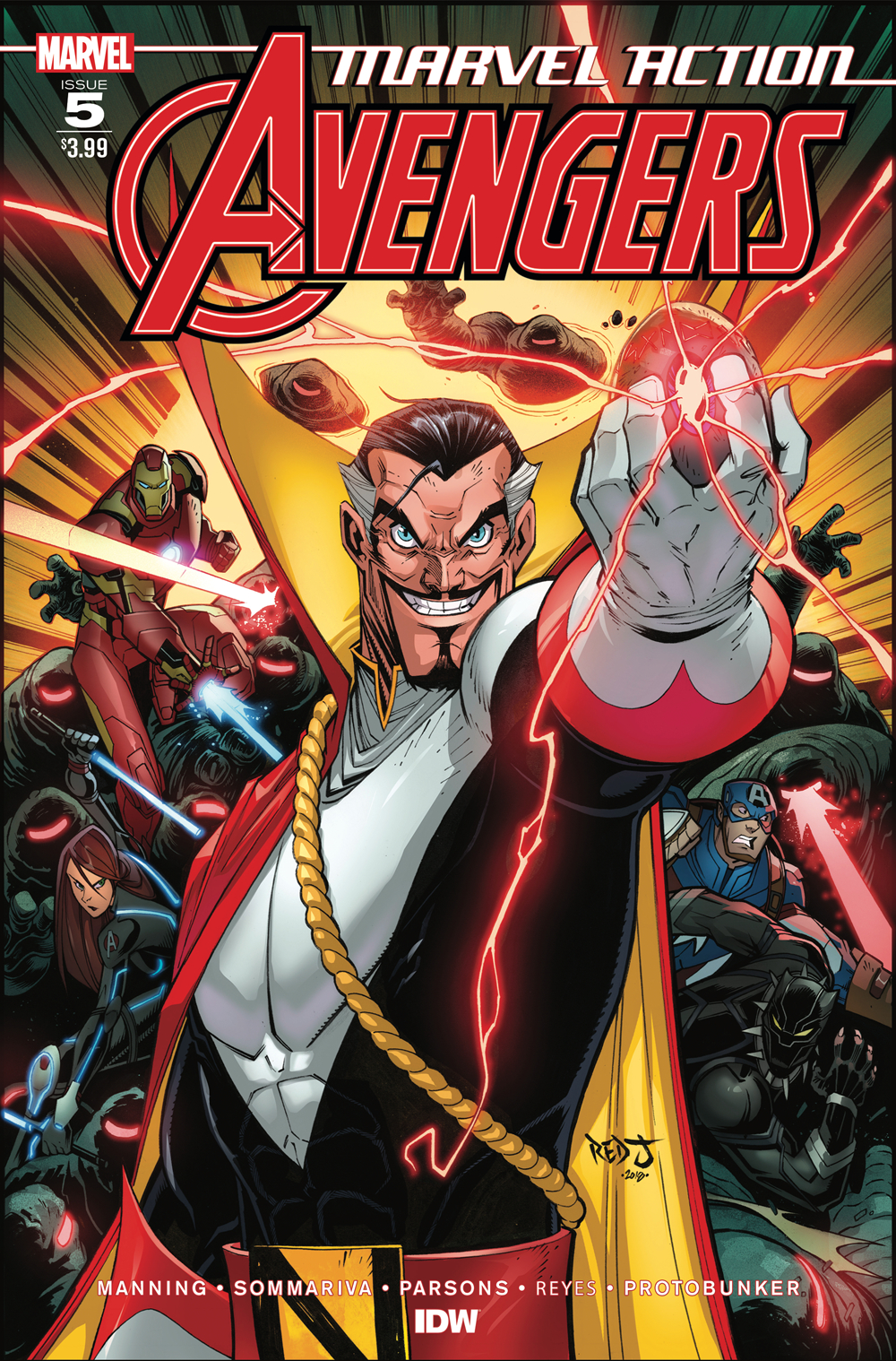 MARVEL ACTION AVENGERS #5 SOMMARIVA