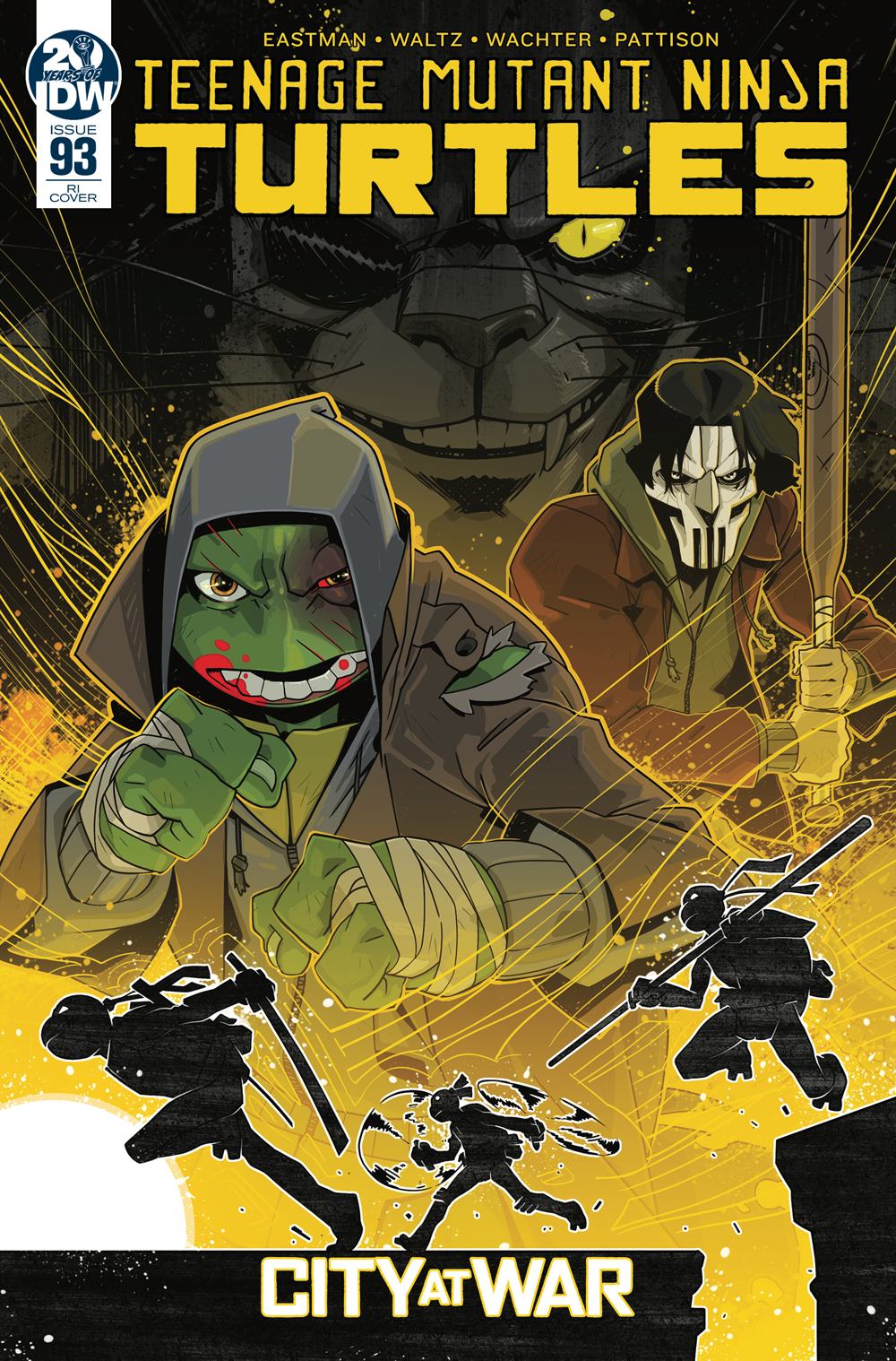 TMNT ONGOING #93 10 COPY INCV DUNCAN
