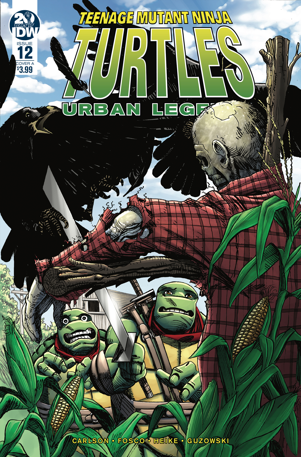 TMNT URBAN LEGENDS #12 CVR A FOSCO