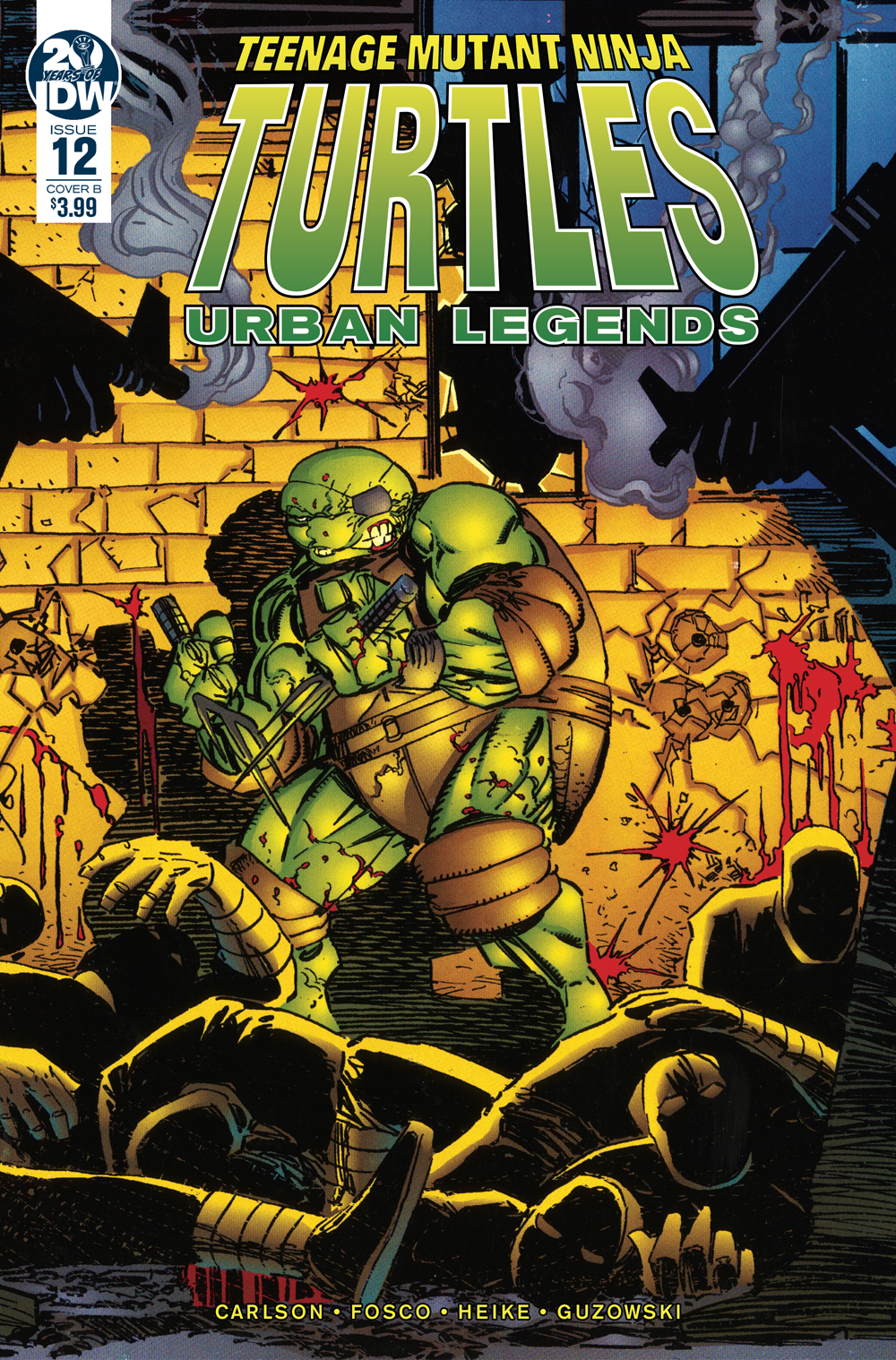 TMNT URBAN LEGENDS #12 CVR B FOSCO & LARSEN