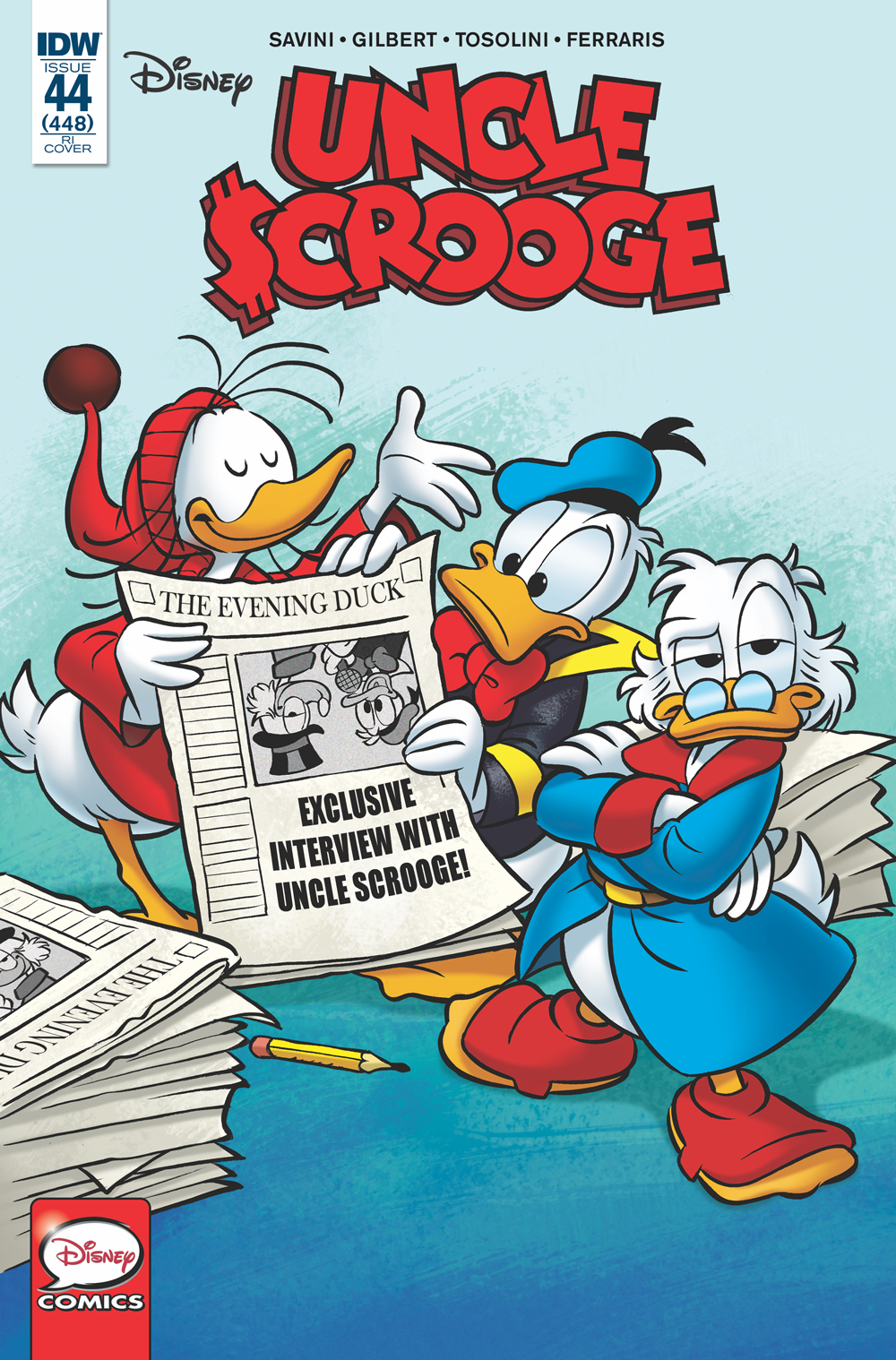 UNCLE SCROOGE #44 10 COPY INCV PERINA