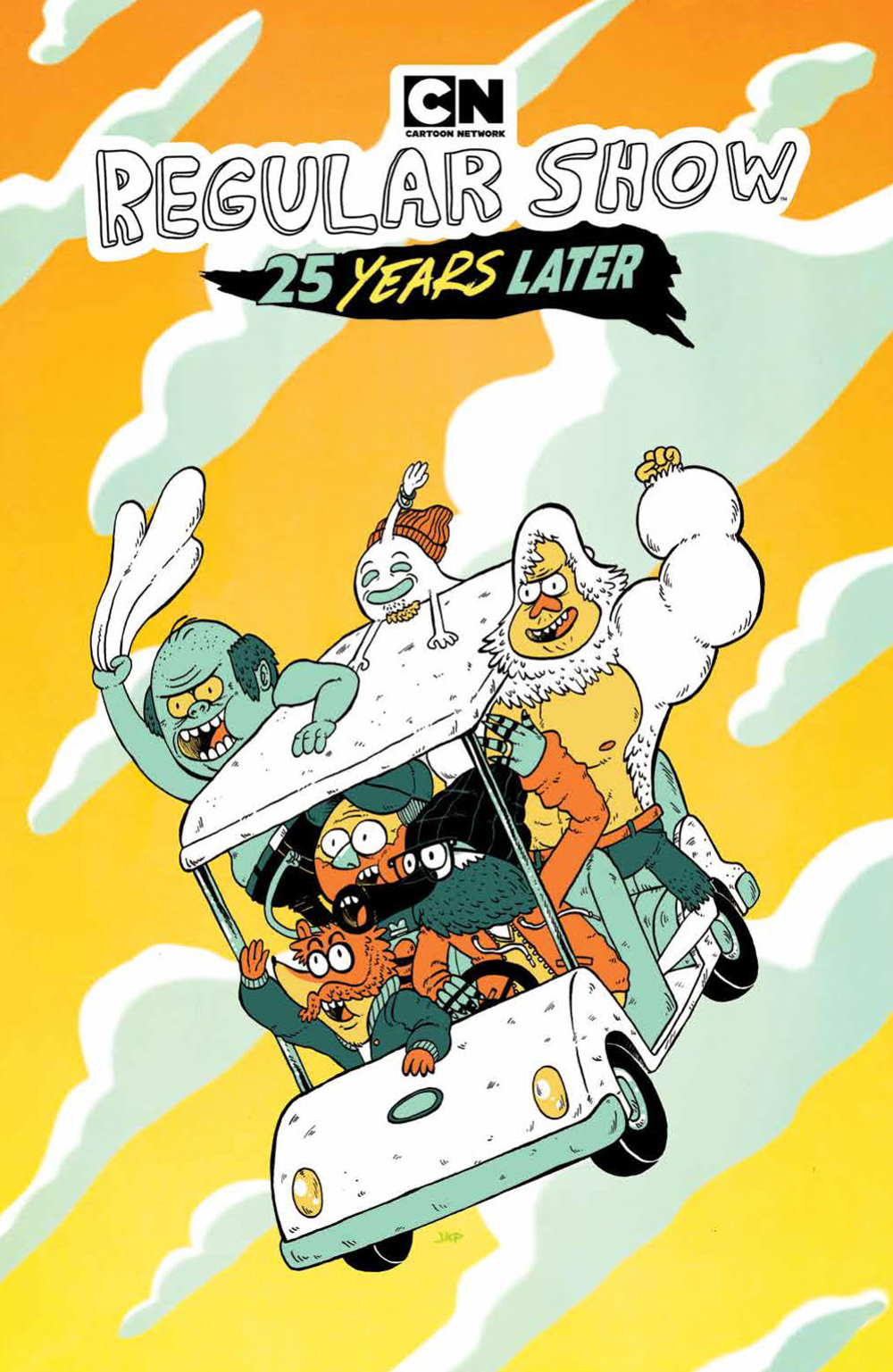 REGULAR SHOW 25 YEARS LATER TP