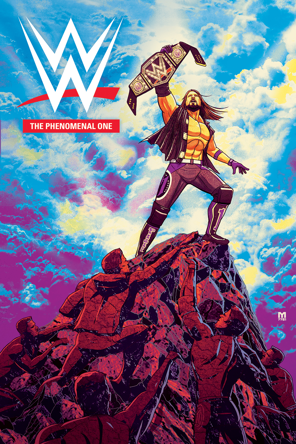 WWE PHENOMENAL ONE TP
