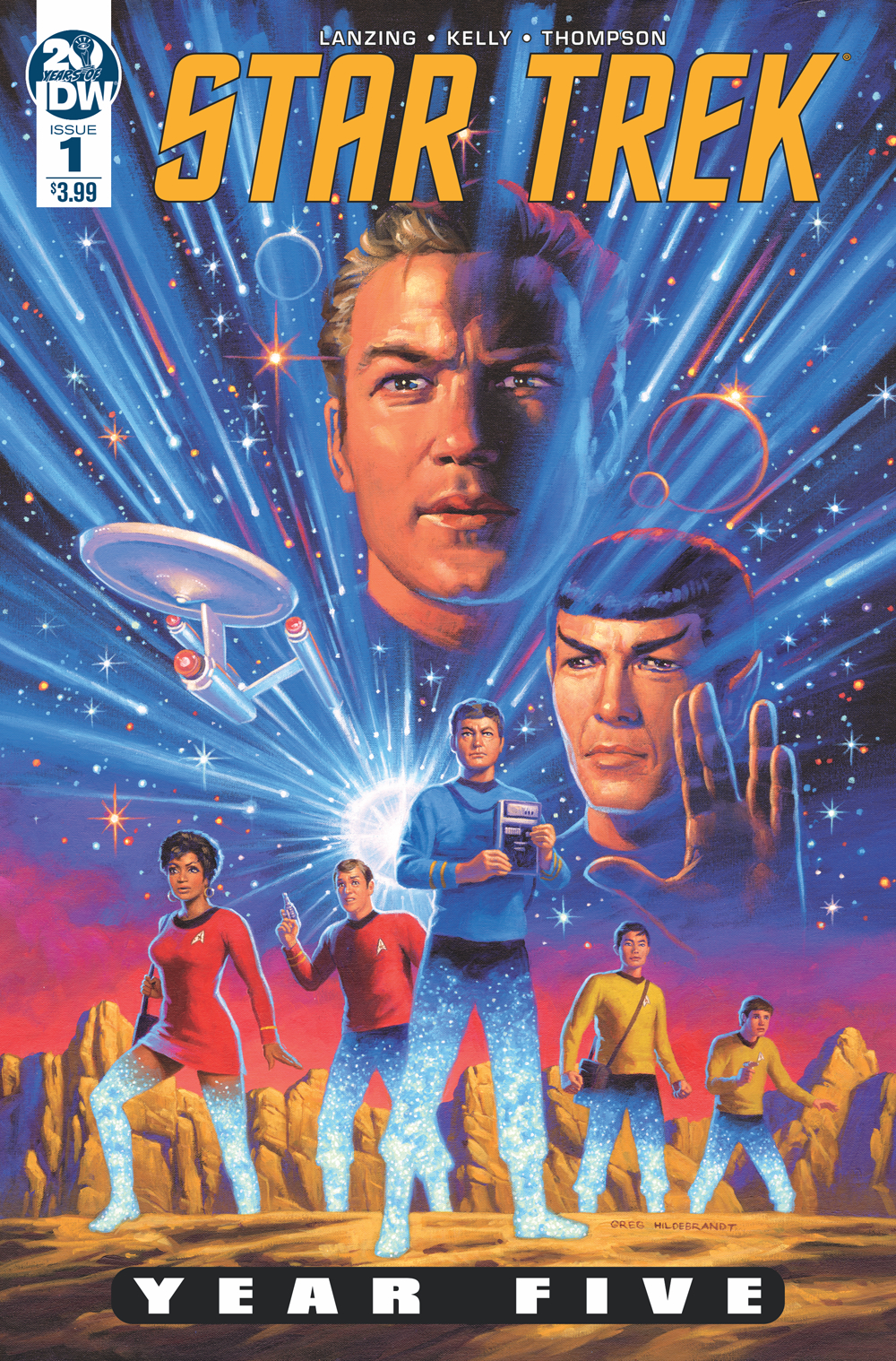 STAR TREK YEAR FIVE #1 HILDABRANDT