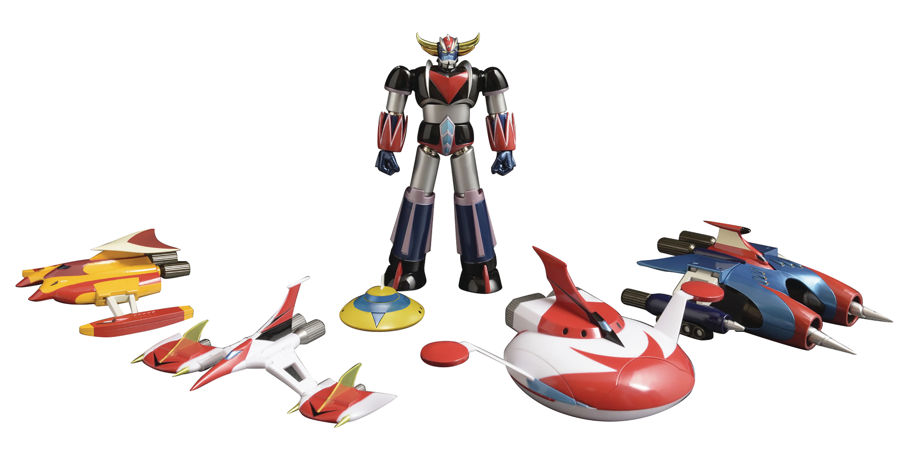 DYNAMITE ACTION GRENDIZER & SPAZERS FIG SET