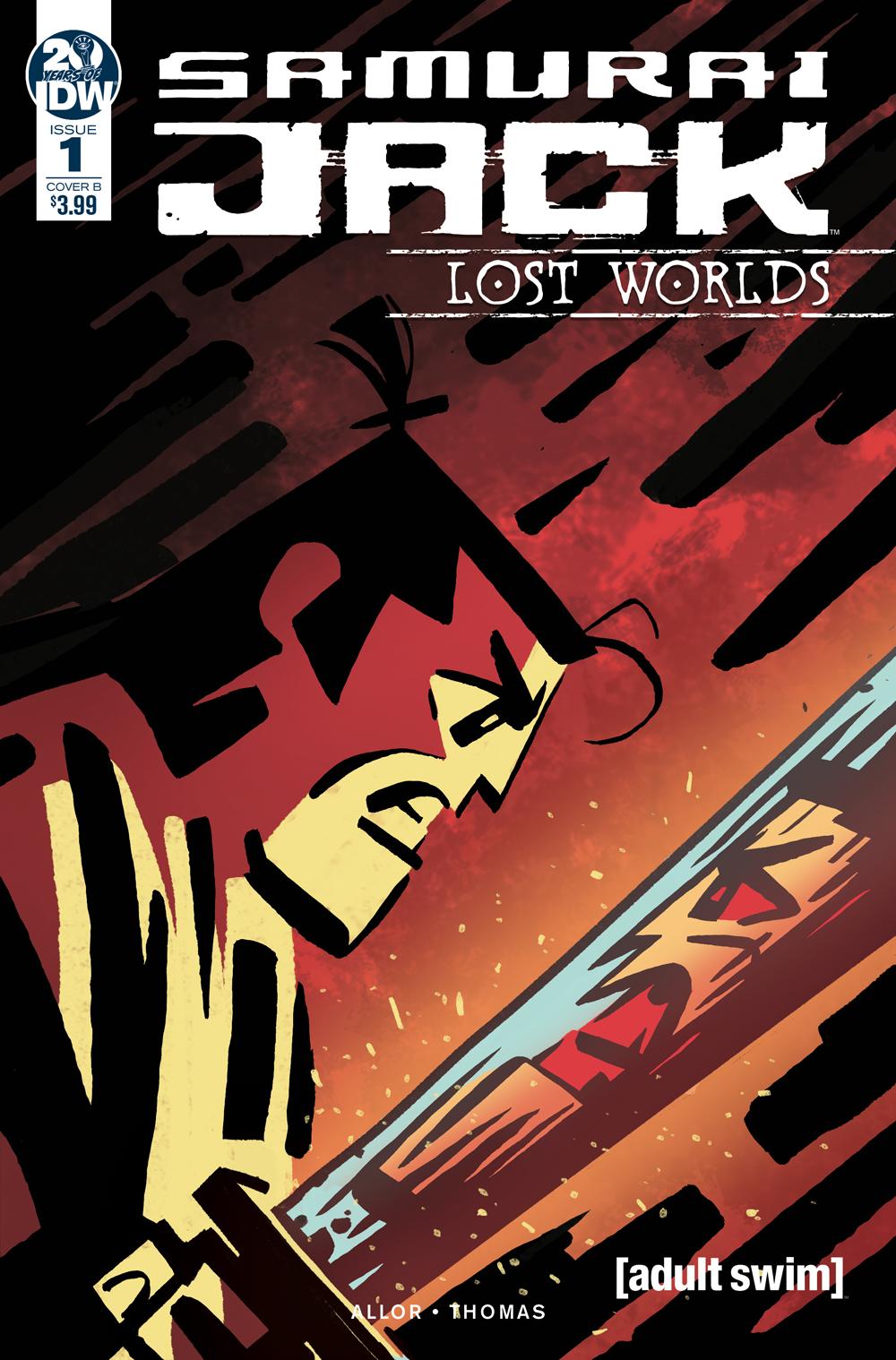 SAMURAI JACK LOST WORLDS #1 CVR B FULLERTON