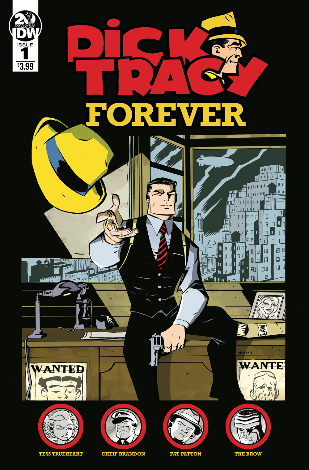 DICK TRACY FOREVER #1 CVR A OEMING