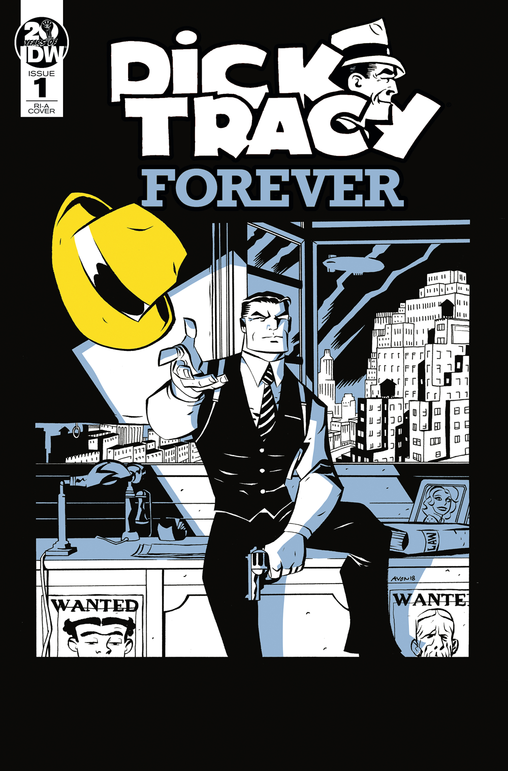 DICK TRACY FOREVER #1 10 COPY INCV OEMING