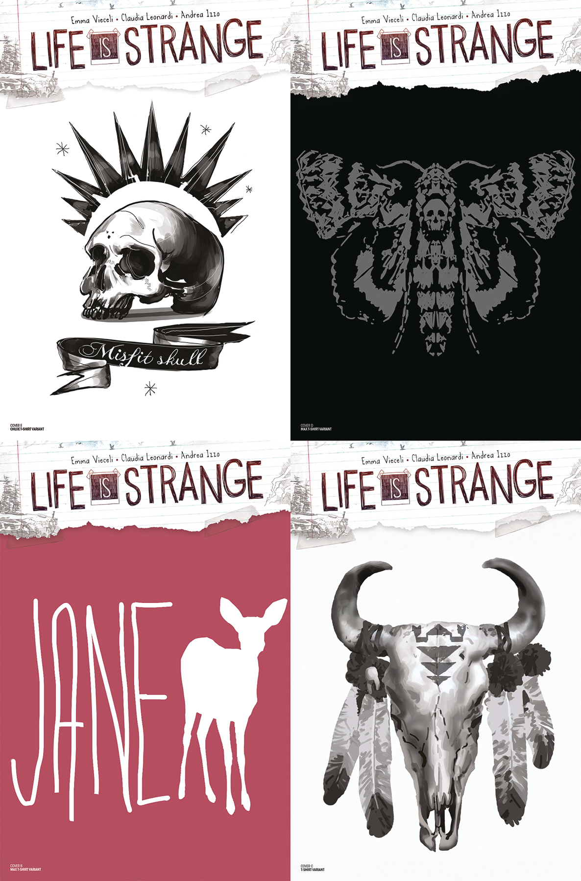 LIFE IS STRANGE TSHIRT COVER PACK (MR)