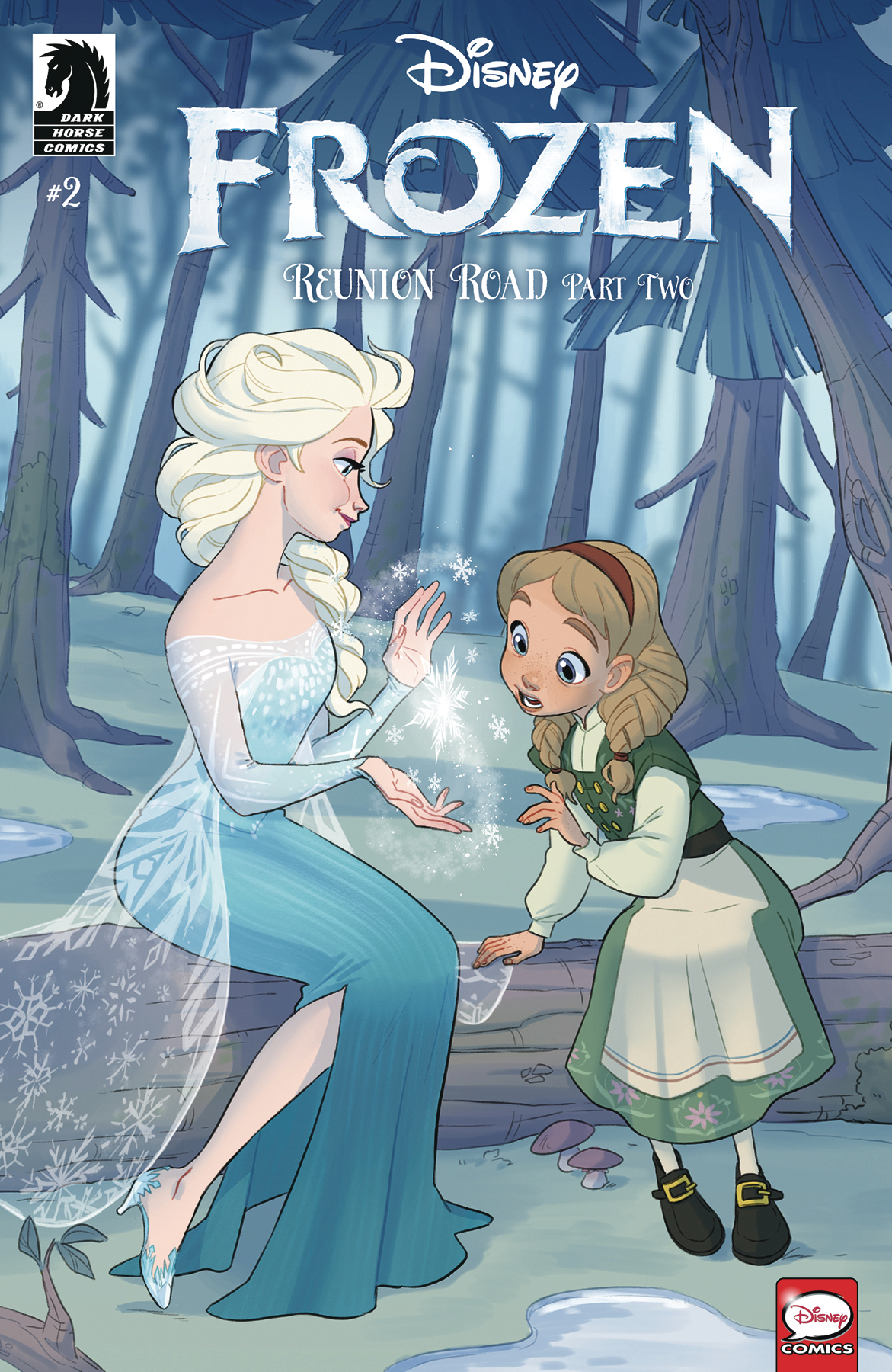 DISNEY FROZEN REUNION ROAD #2 CVR B DICATALDO