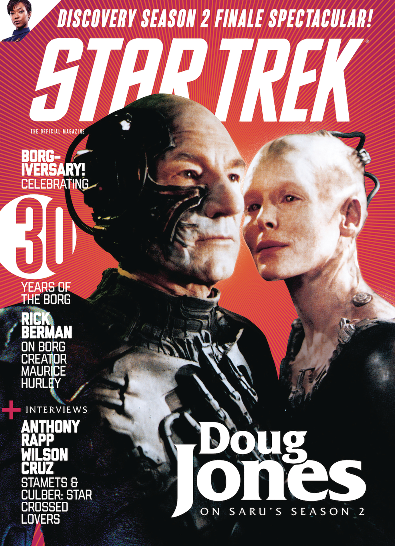 STAR TREK MAGAZINE #71 NEWSSTAND ED