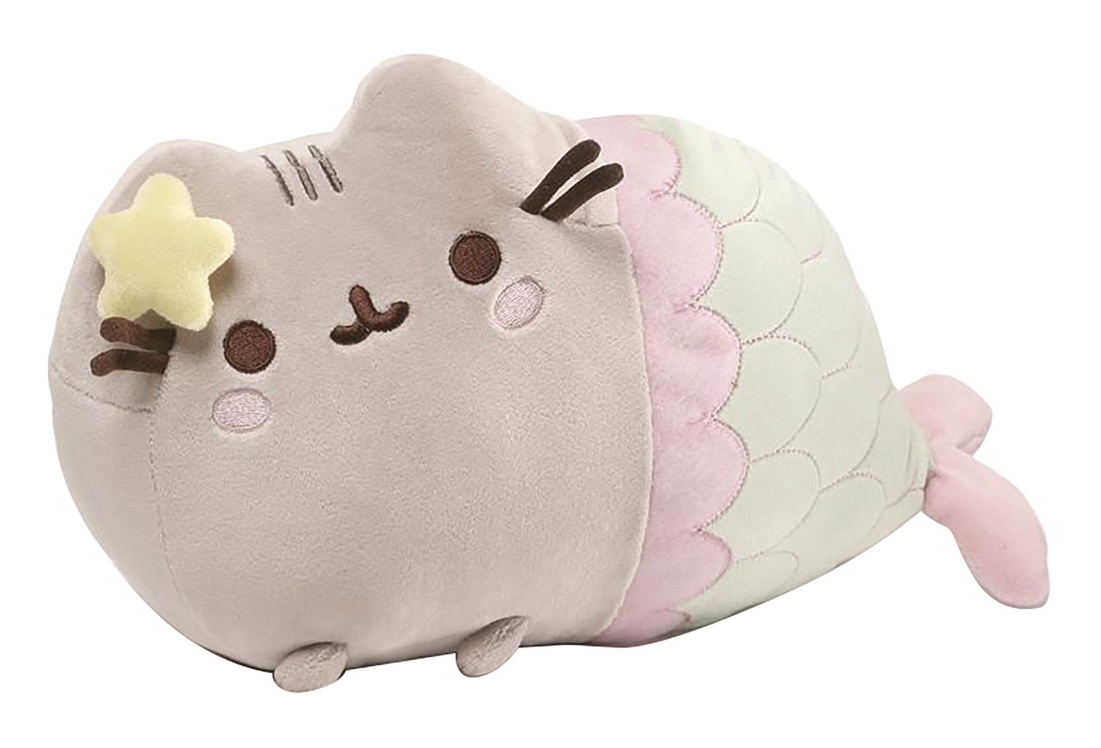 PUSHEEN MERMAID WITH STAR 12 IN PLUSH