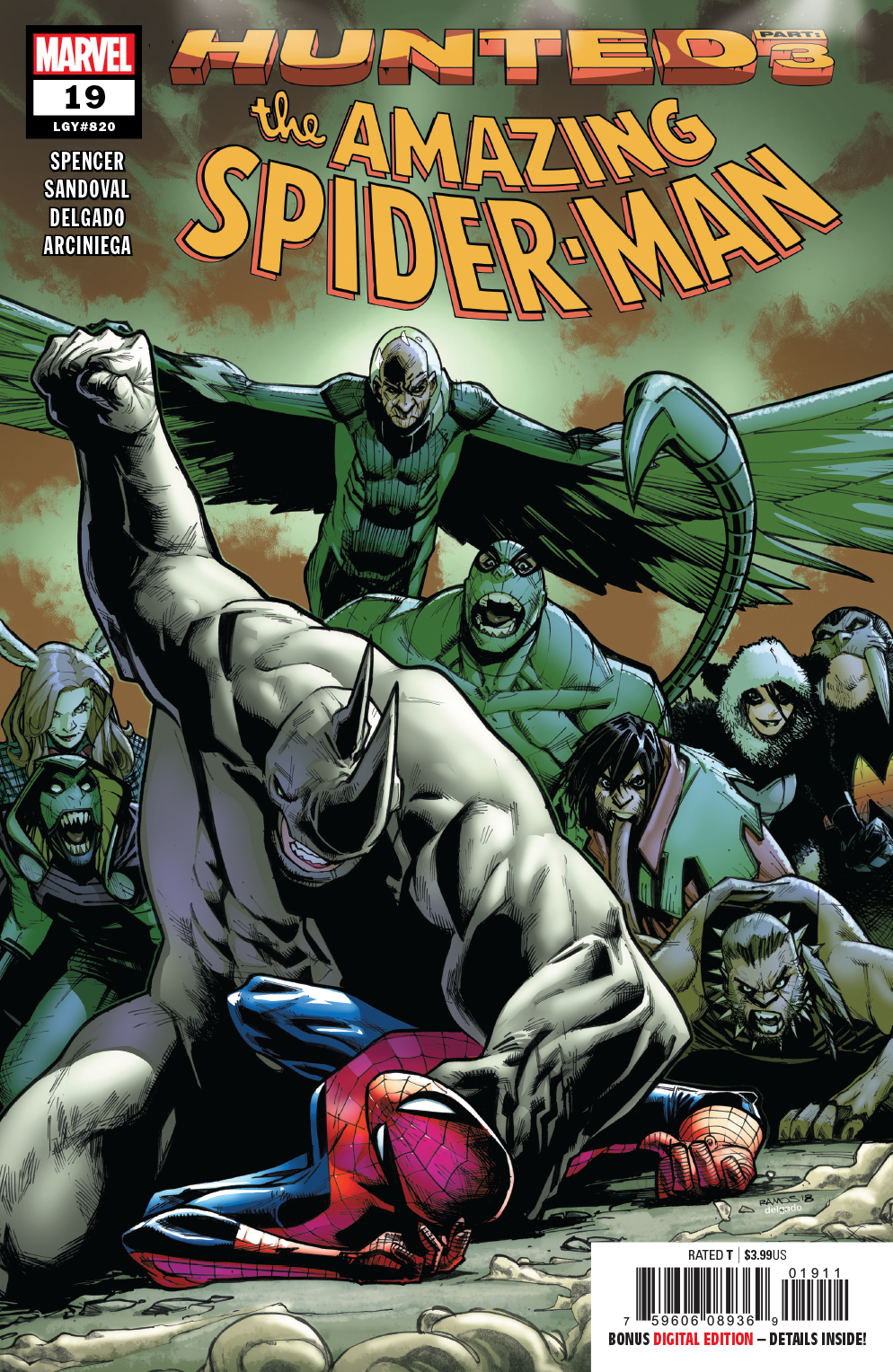 AMAZING SPIDER-MAN #19