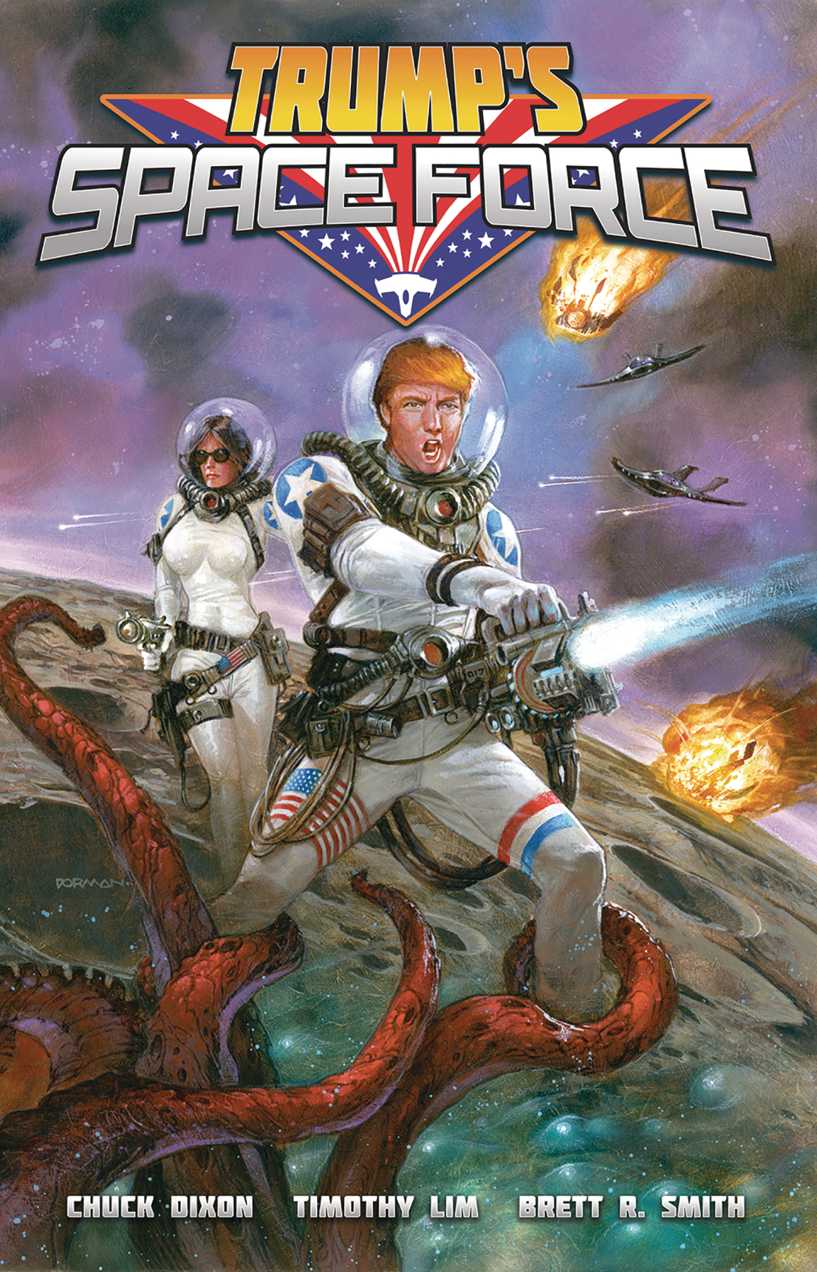 TRUMP SPACE FORCE ONE-SHOT
