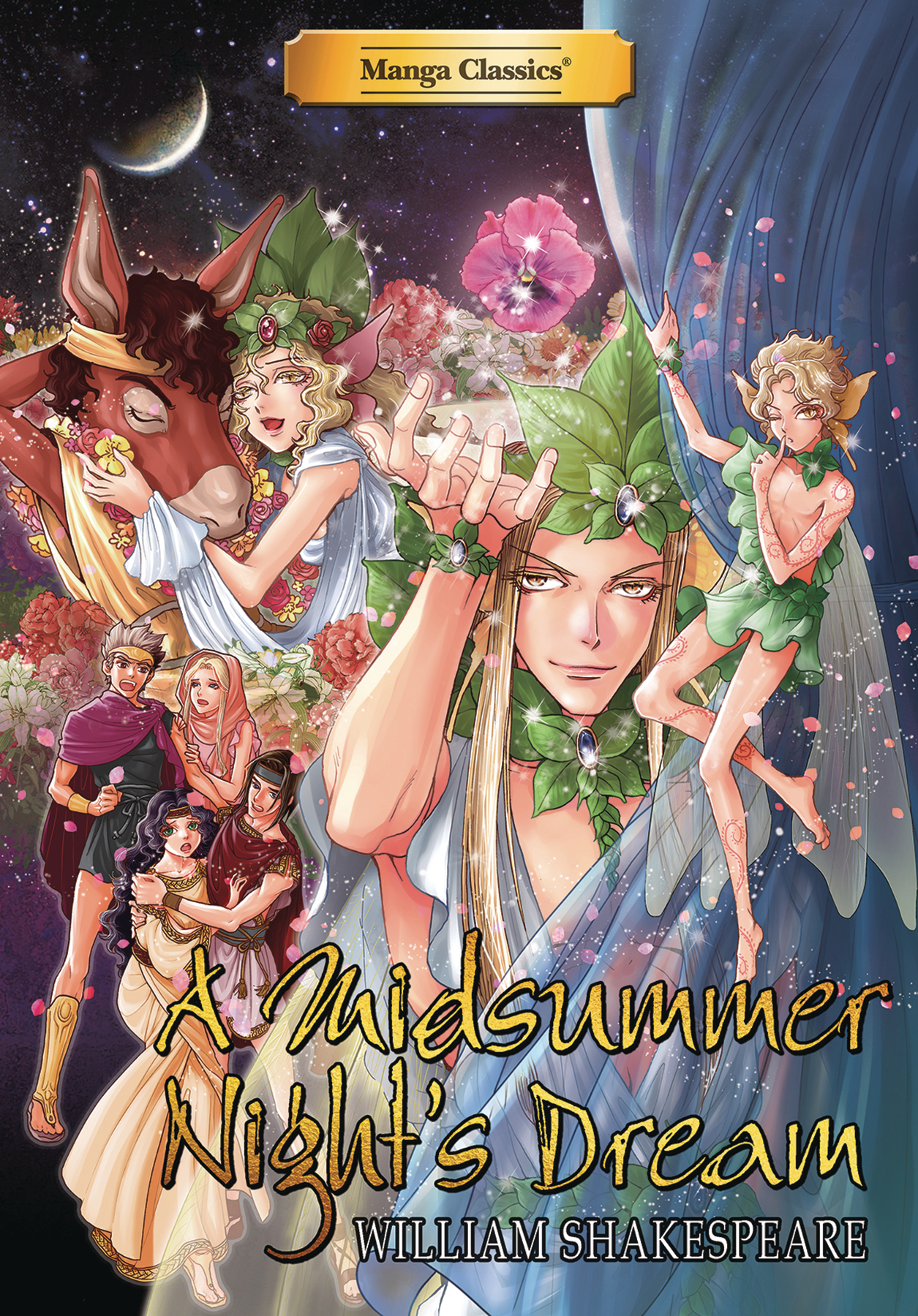 MANGA CLASSICS A MIDSUMMER NIGHTS DREAM TP