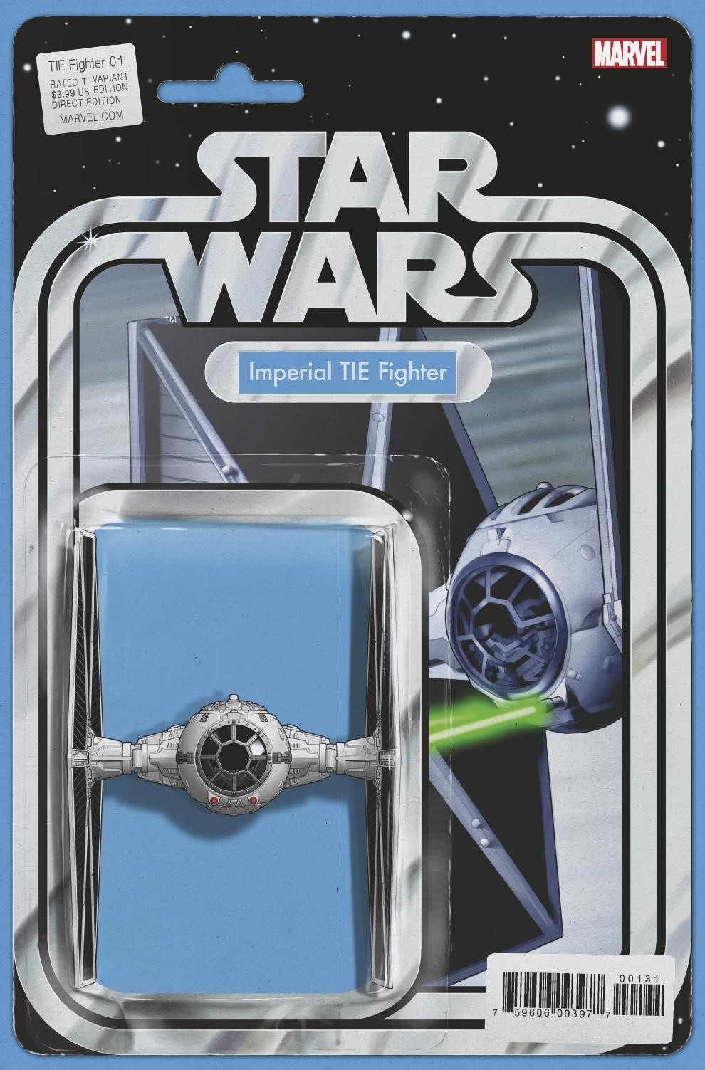 STAR WARS TIE FIGHTER #1 (OF 5) CHRISTOPHER ACTION FIGURE VE