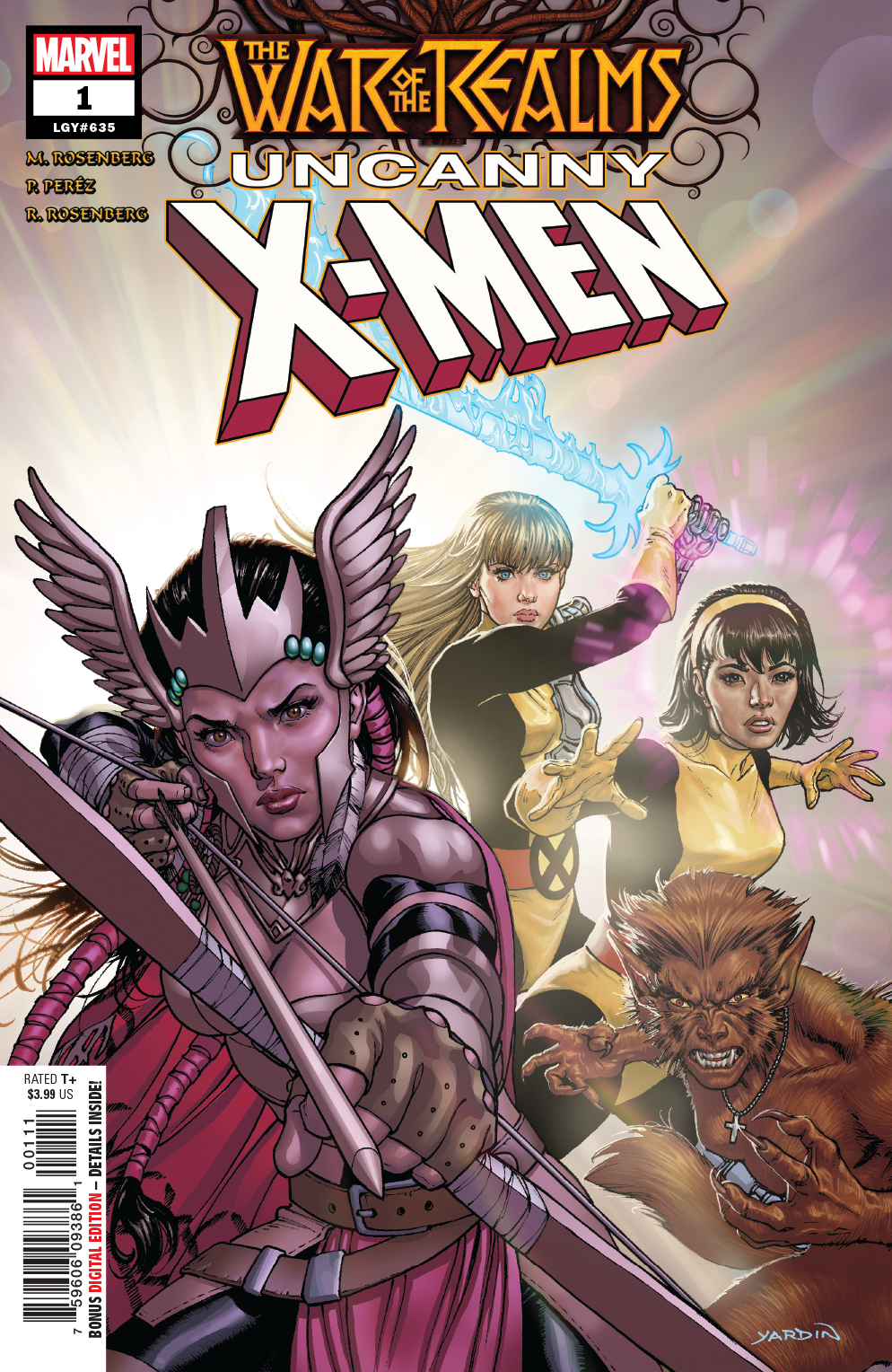 WAR OF REALMS UNCANNY X-MEN #1 (OF 3) WR