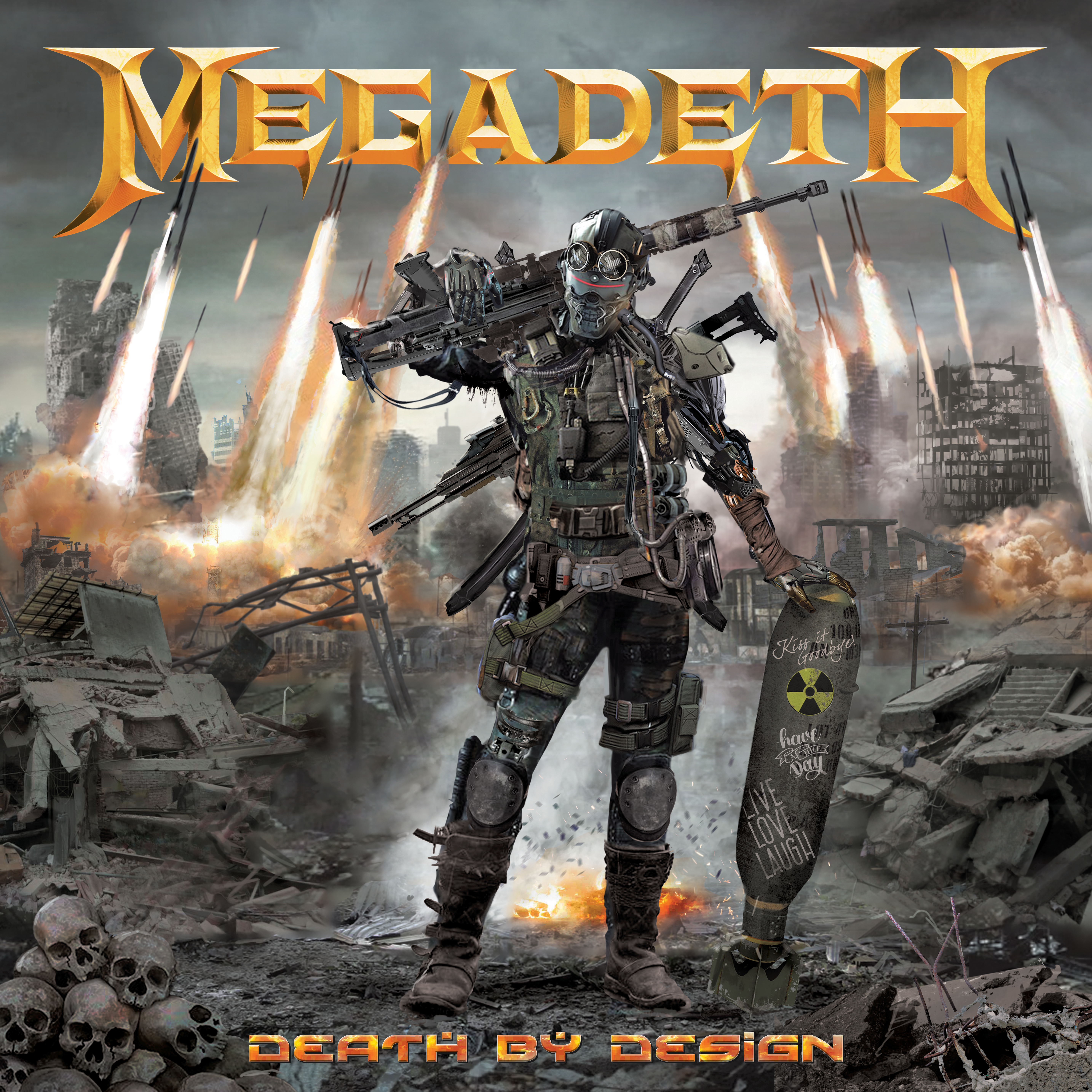 MEGADETH DEATH BY DESIGN HC (MR)