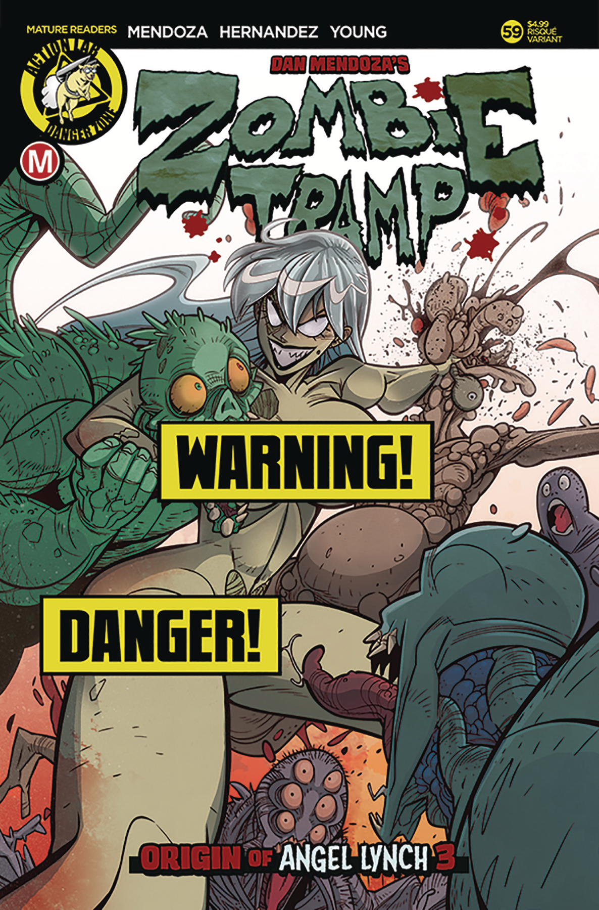 ZOMBIE TRAMP ONGOING #59 CVR B MACCAGNI RISQUE (MR)